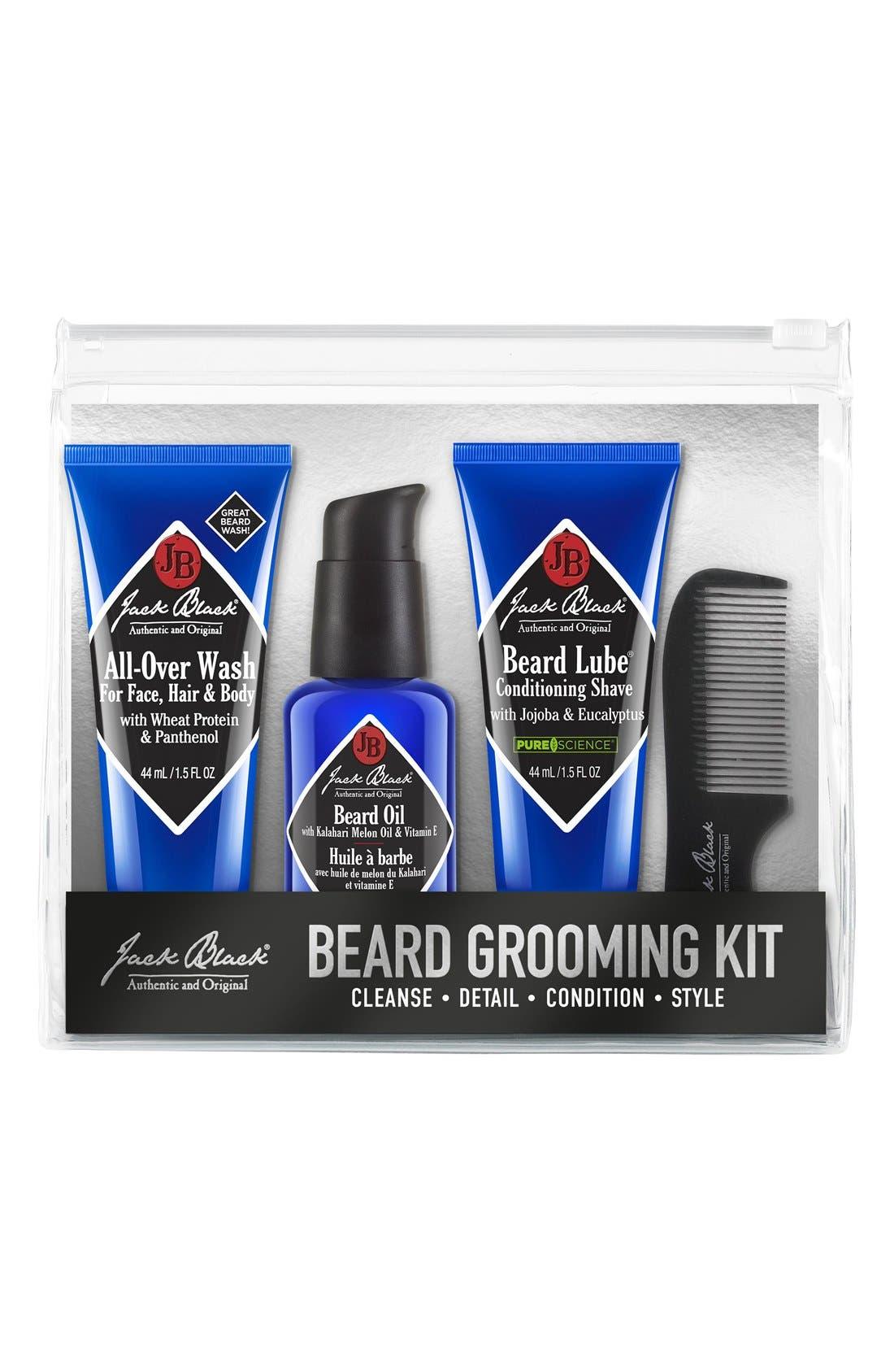 Beard Grooming Kit,                             Main thumbnail 1, color,                             000