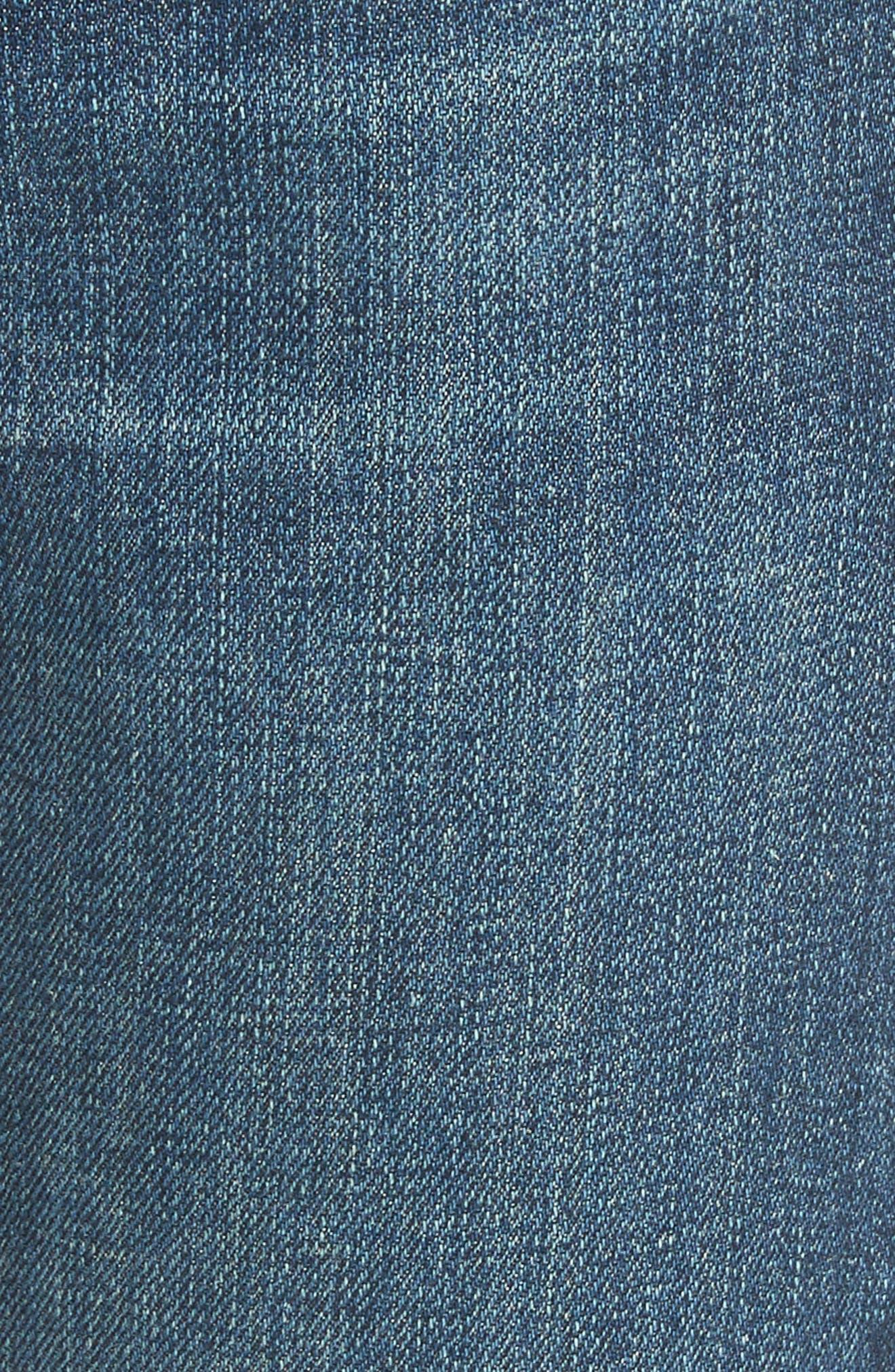 The Dre Slim Boyfriend Jeans,                             Alternate thumbnail 5, color,