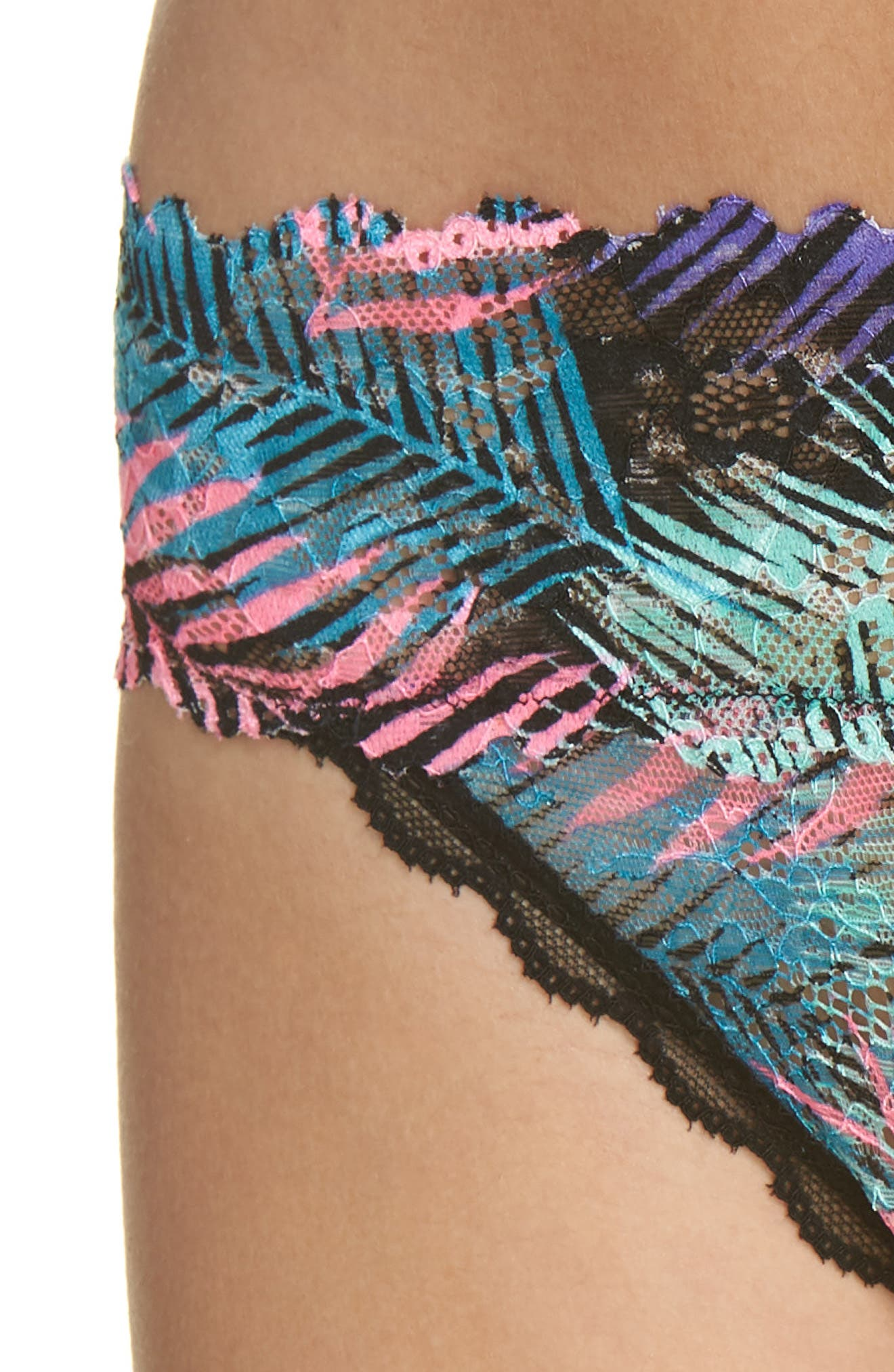Honeydew Lace Thong,                             Alternate thumbnail 48, color,