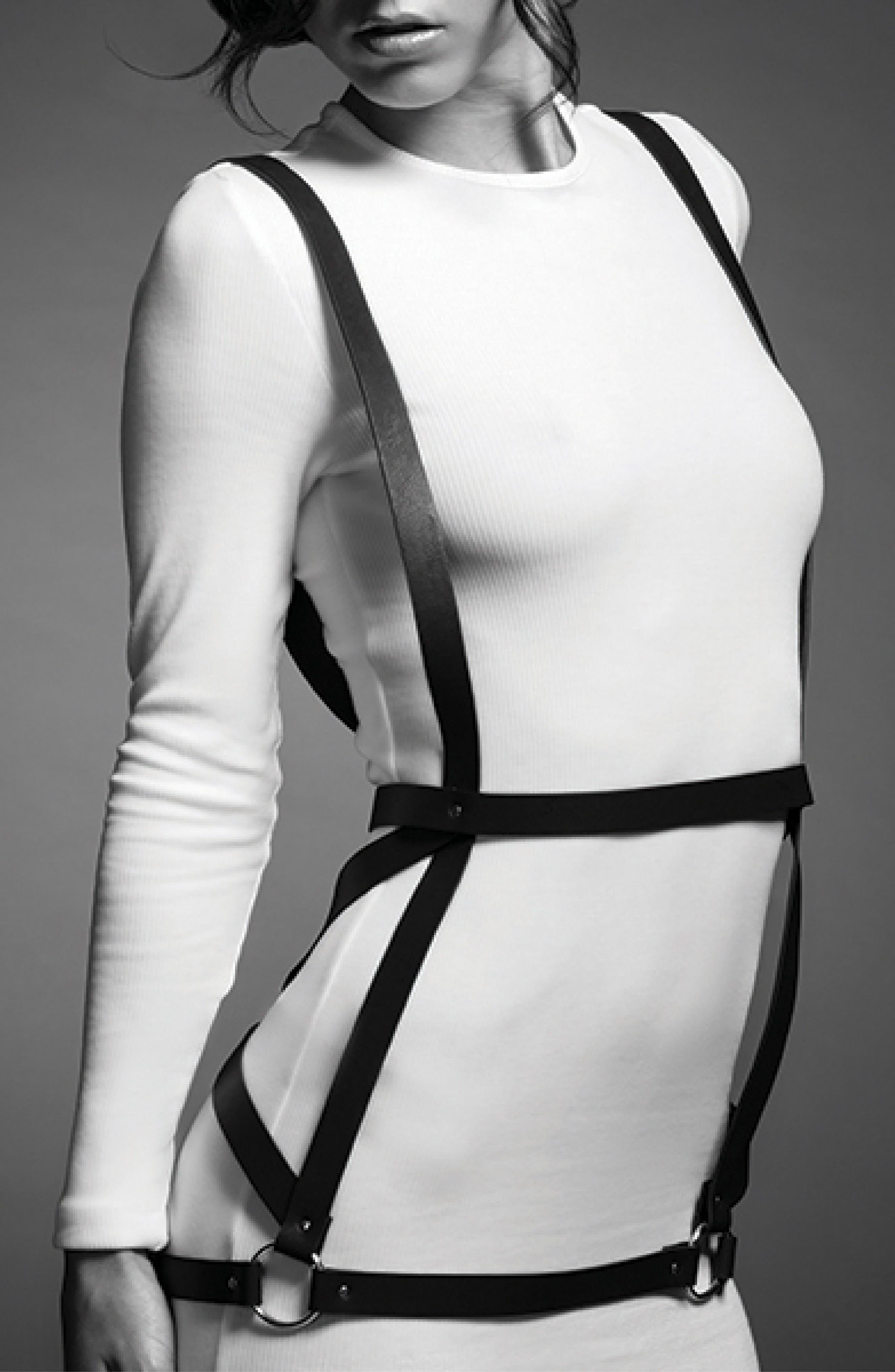 Maze Arrow Dress Harness,                             Alternate thumbnail 5, color,                             001