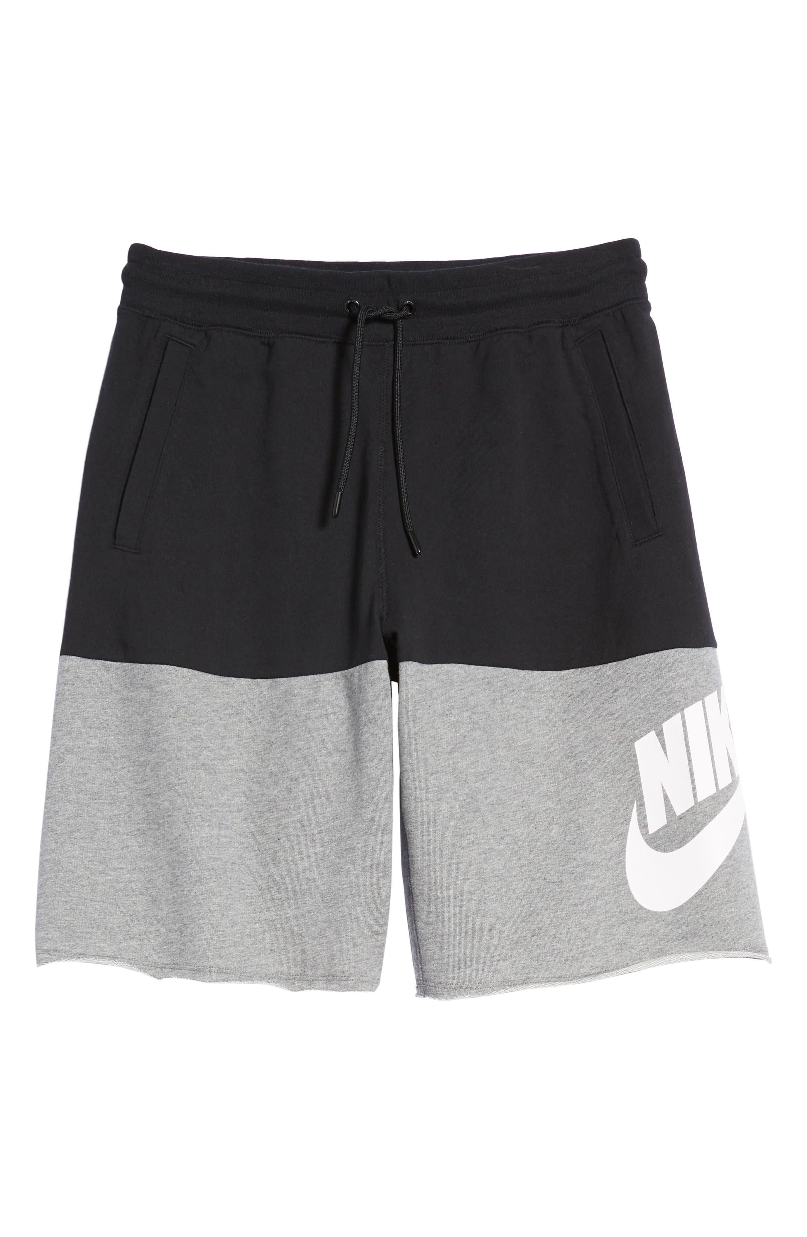 NSW Franchise GX3 Shorts,                             Alternate thumbnail 6, color,                             BLACK/ CARBON HEATHER/ WHITE
