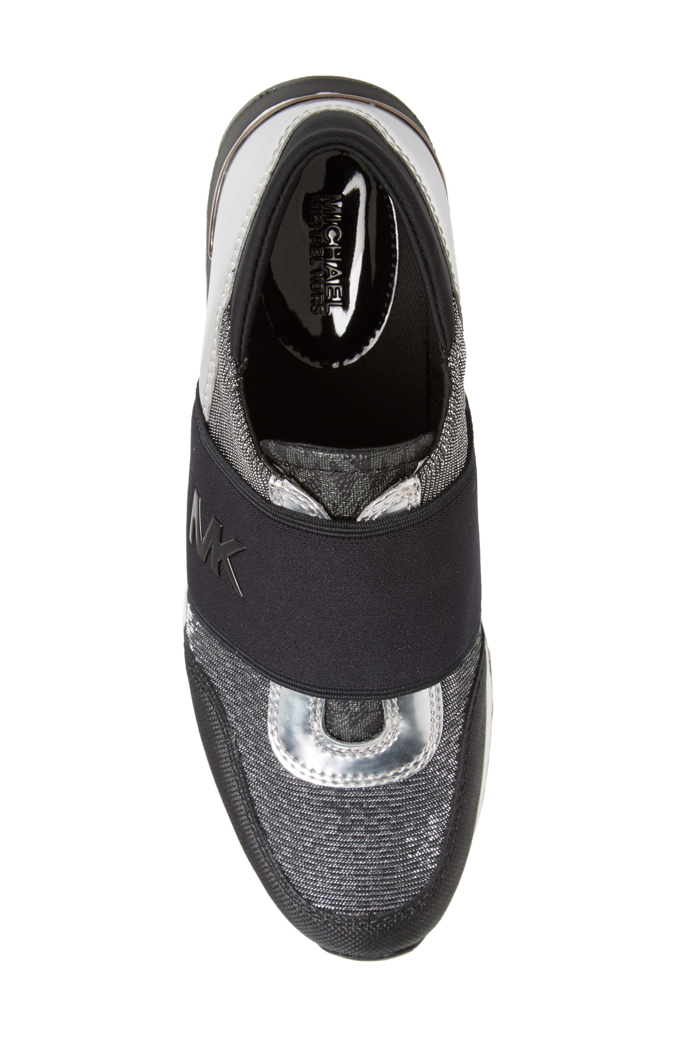 Slip-On Sneaker,                             Alternate thumbnail 5, color,                             001