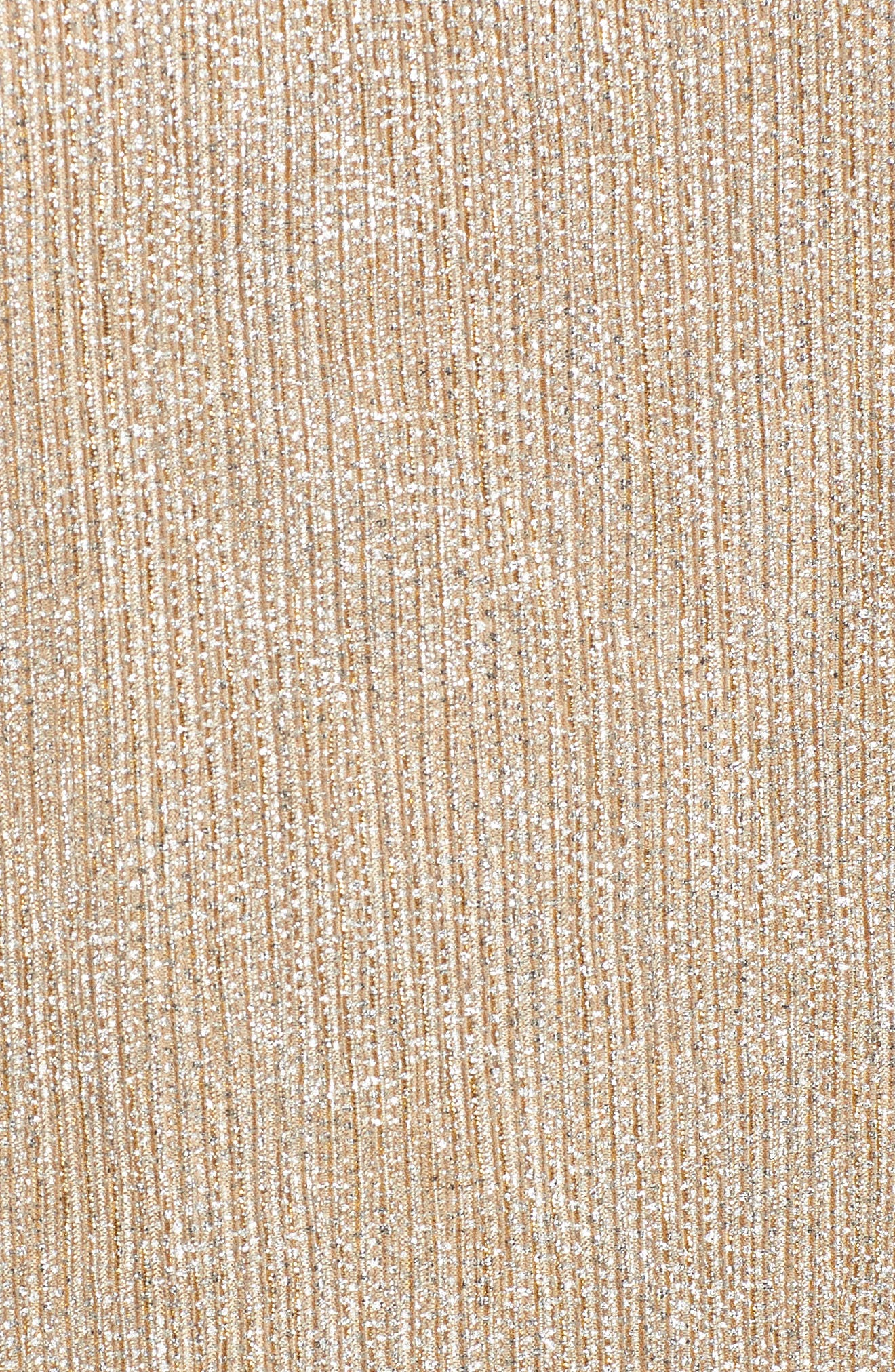 Metallic Knit Tee,                             Alternate thumbnail 5, color,                             274