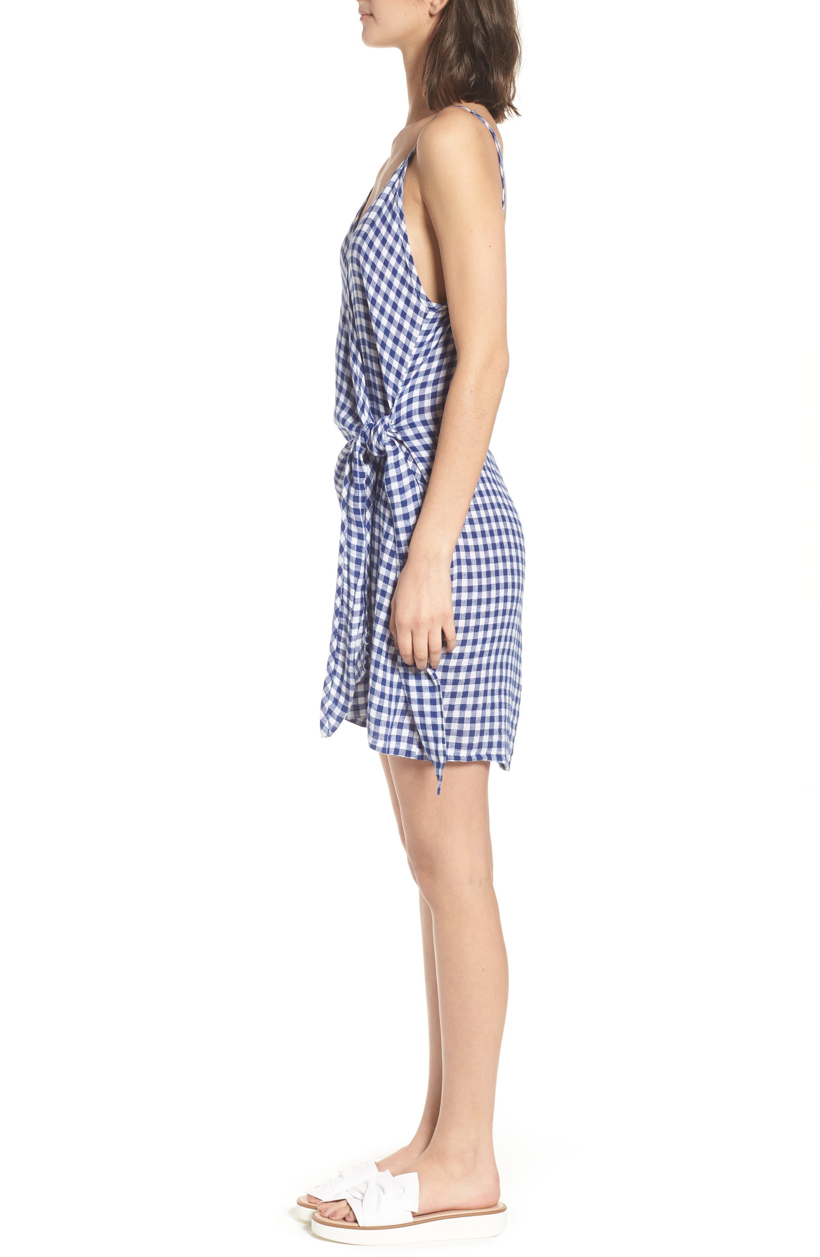 Malia Wrap Dress,                             Alternate thumbnail 3, color,                             407