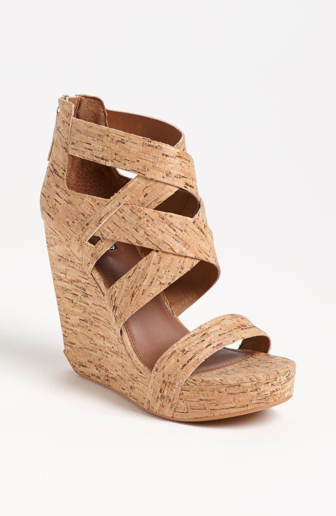 'Crisscross' Wedge Sandal,                         Main,                         color,
