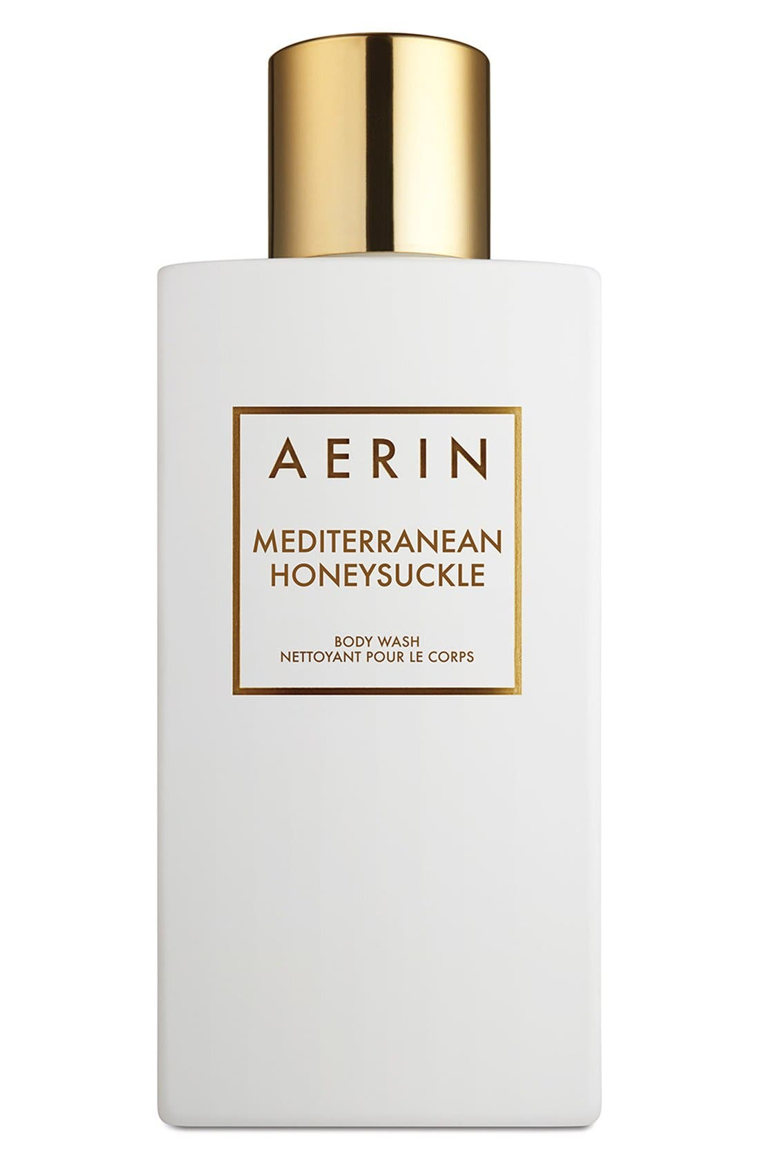 AERIN Beauty Mediterranean Honeysuckle Body Wash,                             Main thumbnail 1, color,