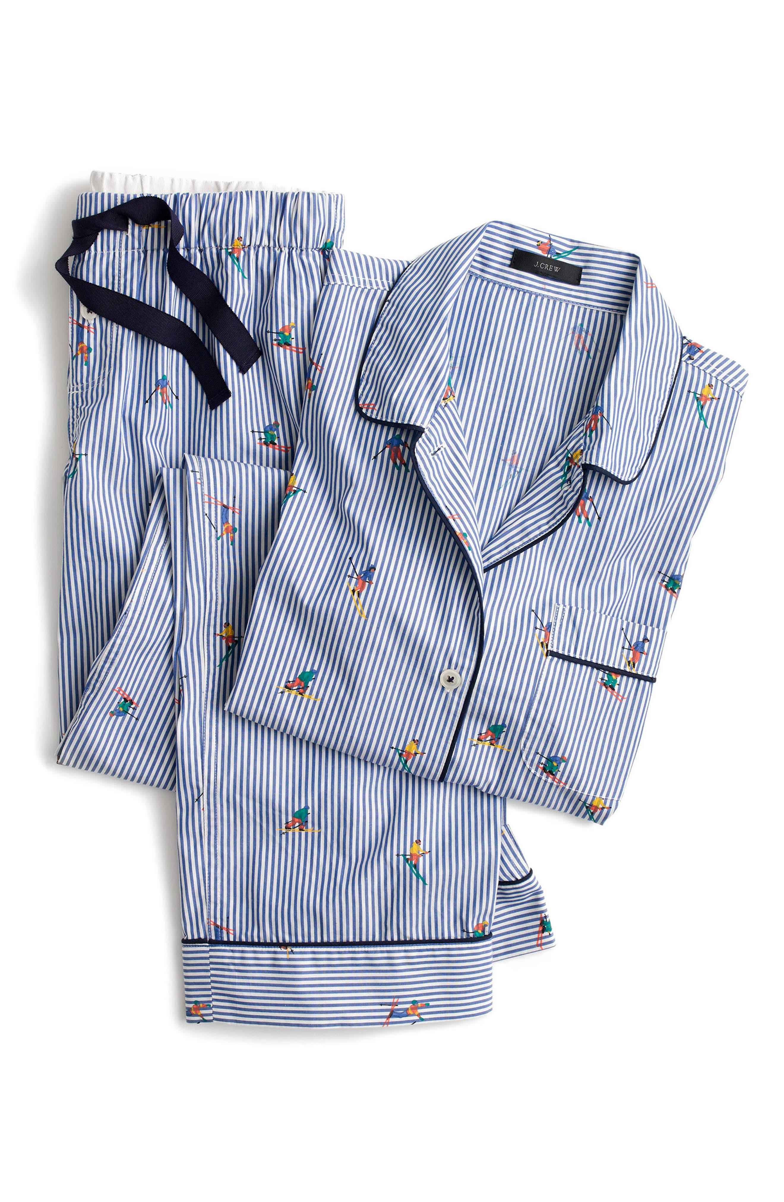 Skier Pajamas,                             Alternate thumbnail 4, color,                             400