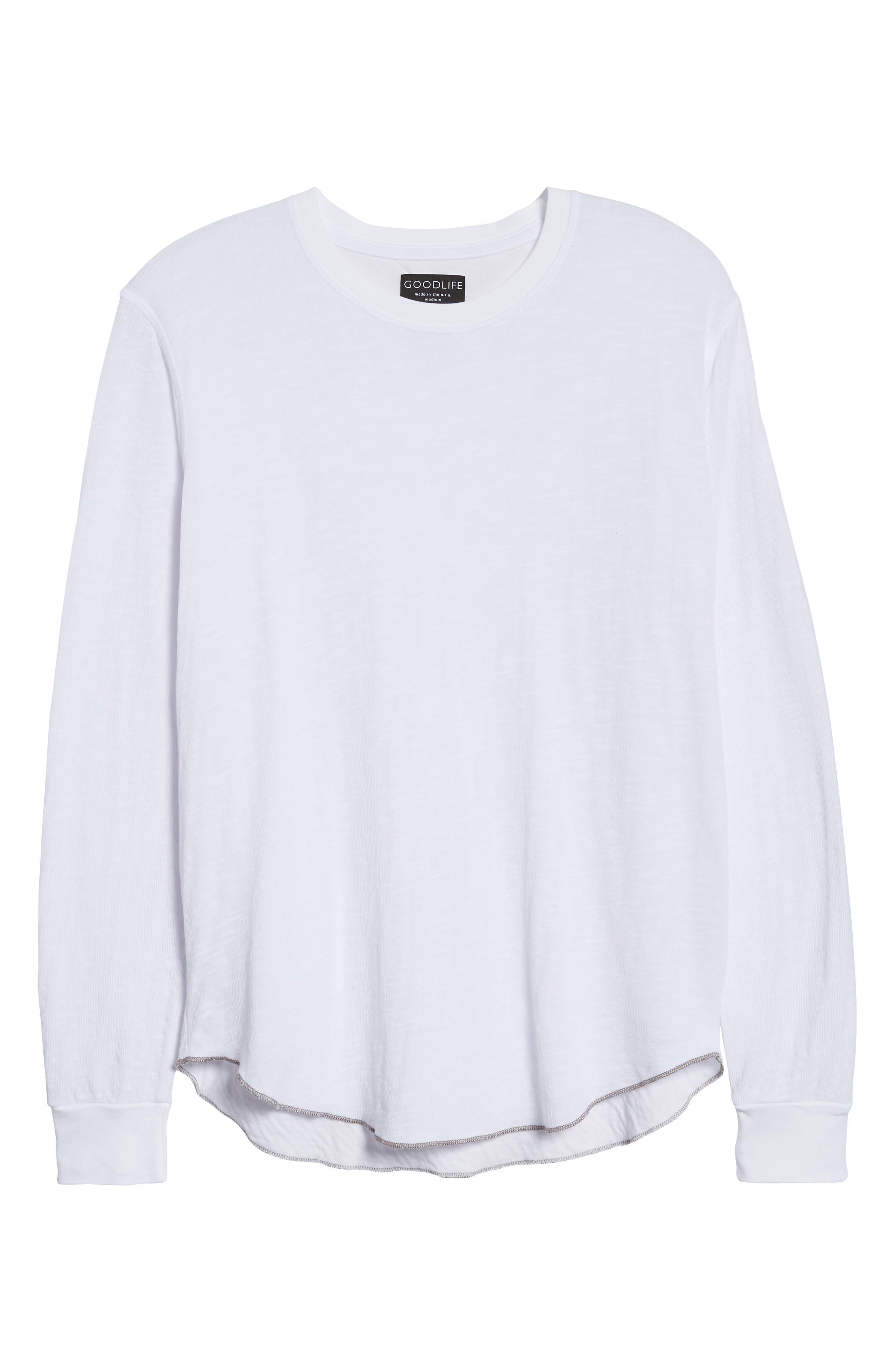 Double Layer Slim Crewneck T-Shirt,                             Alternate thumbnail 39, color,