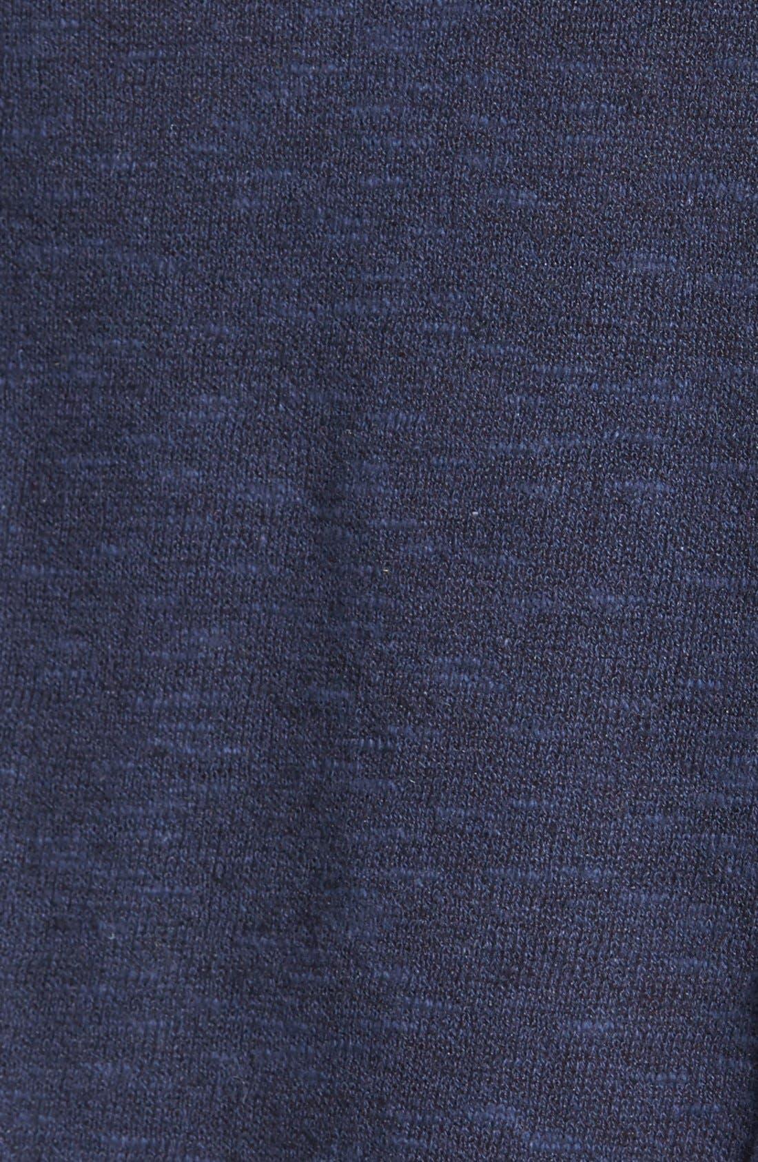 Cap Sleeve Organic Linen & Cotton Scoop Neck Top,                             Alternate thumbnail 48, color,
