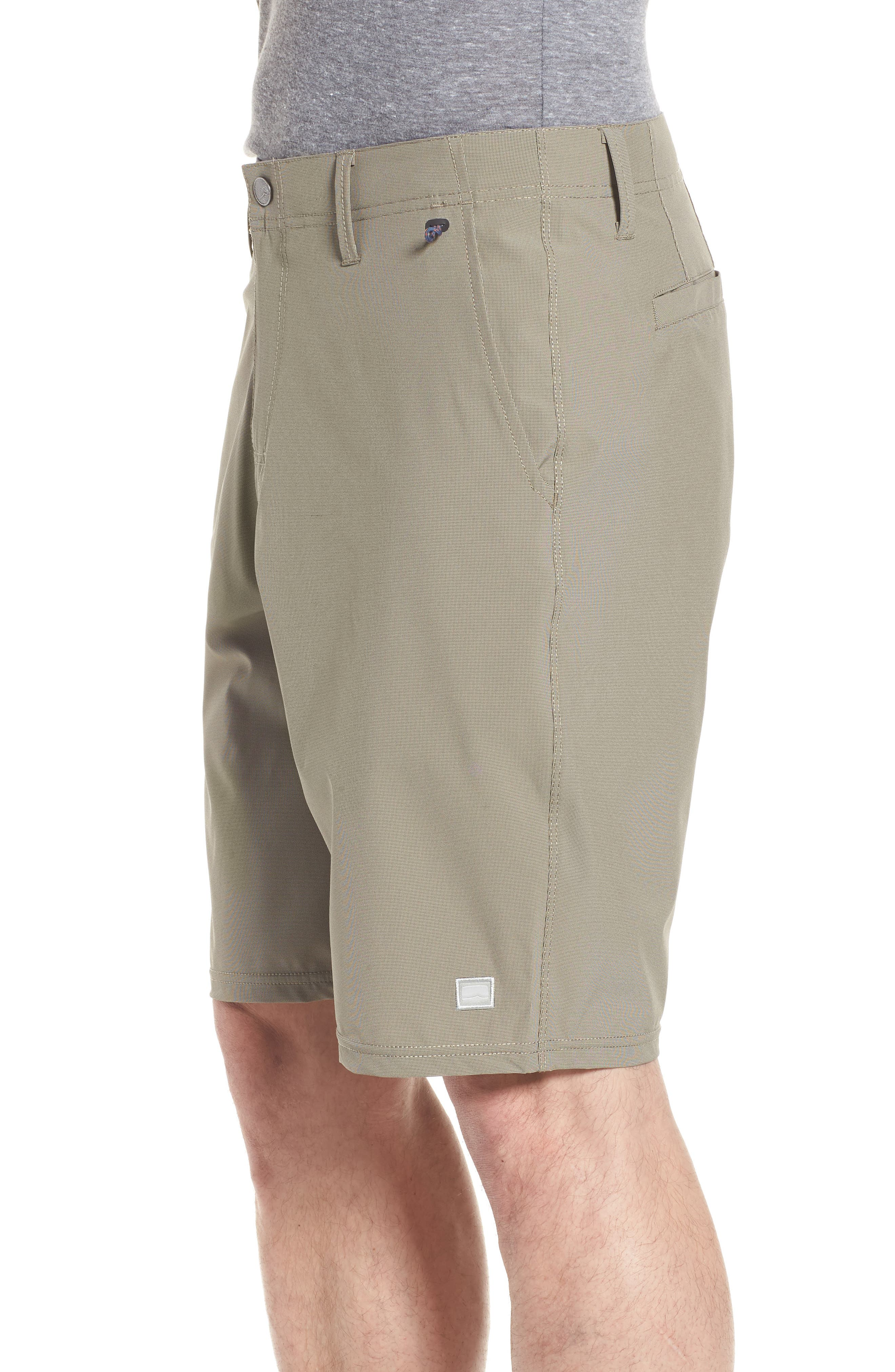 Seaside Hybrid Shorts,                             Alternate thumbnail 3, color,                             ESPRESSO