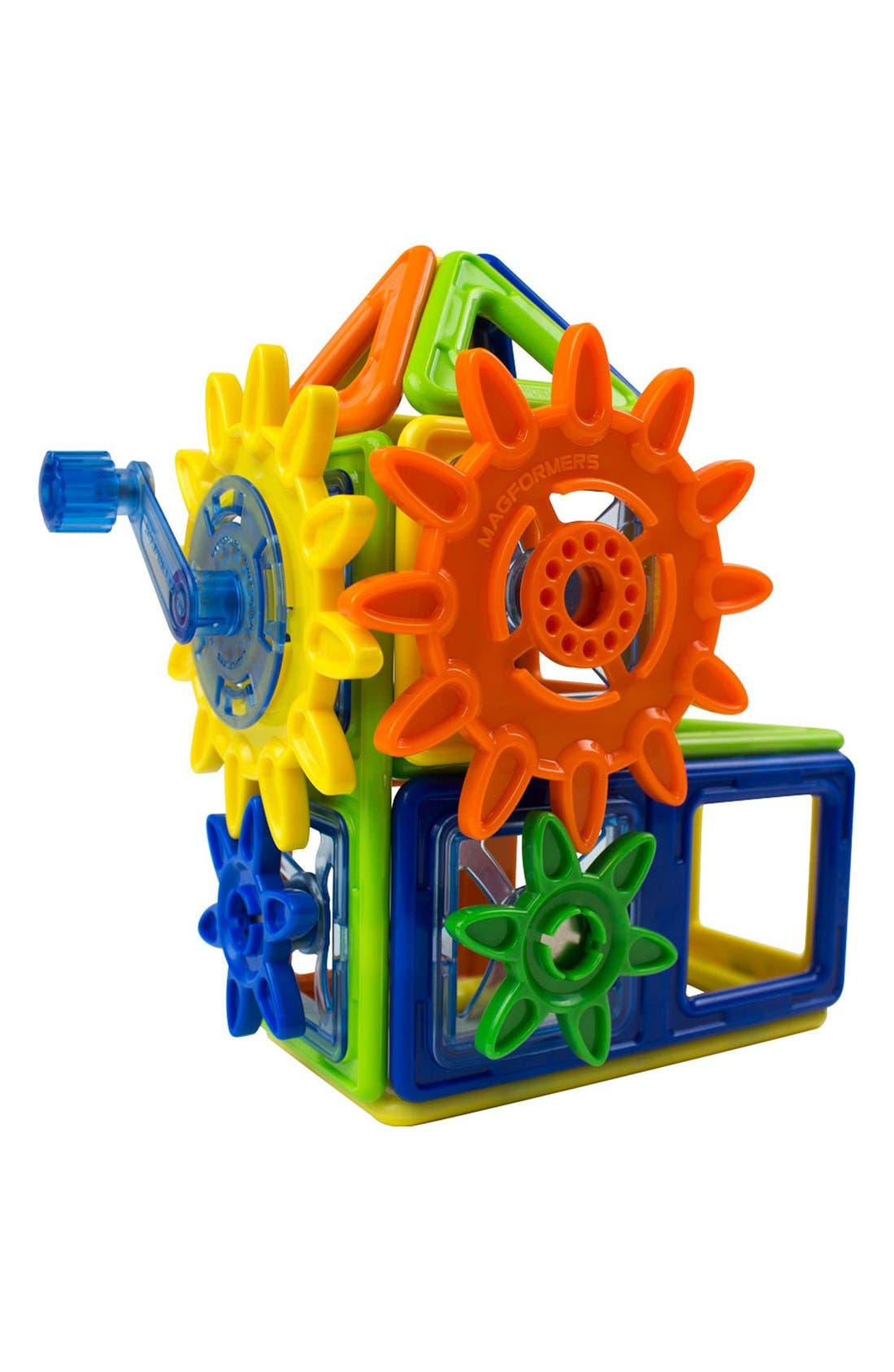 'Magnets in Motion' Magnetic 3D Construction Set,                             Alternate thumbnail 4, color,                             OPAQUE RAINBOW