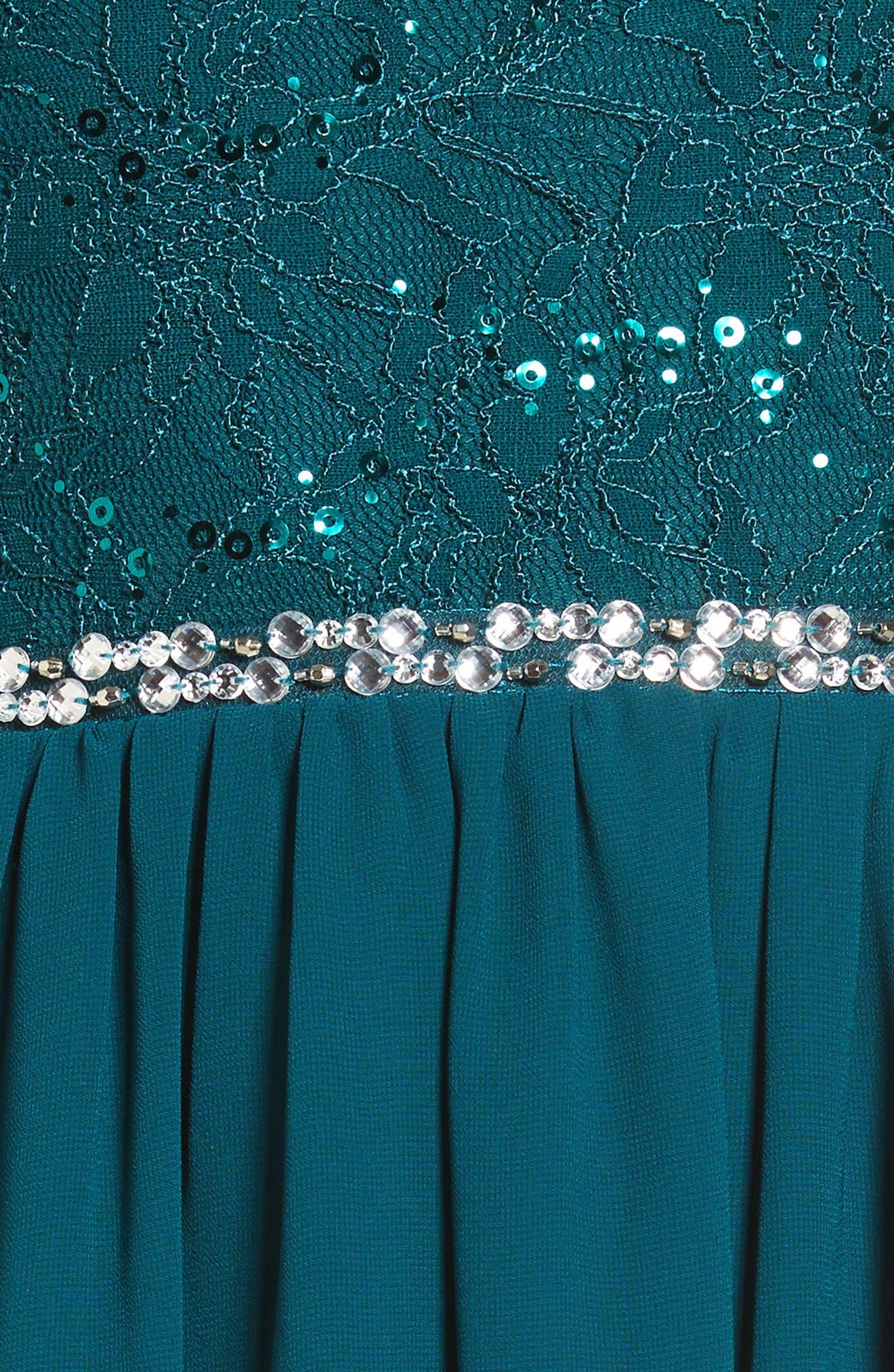 Jeweled Belt Dress,                             Alternate thumbnail 9, color,