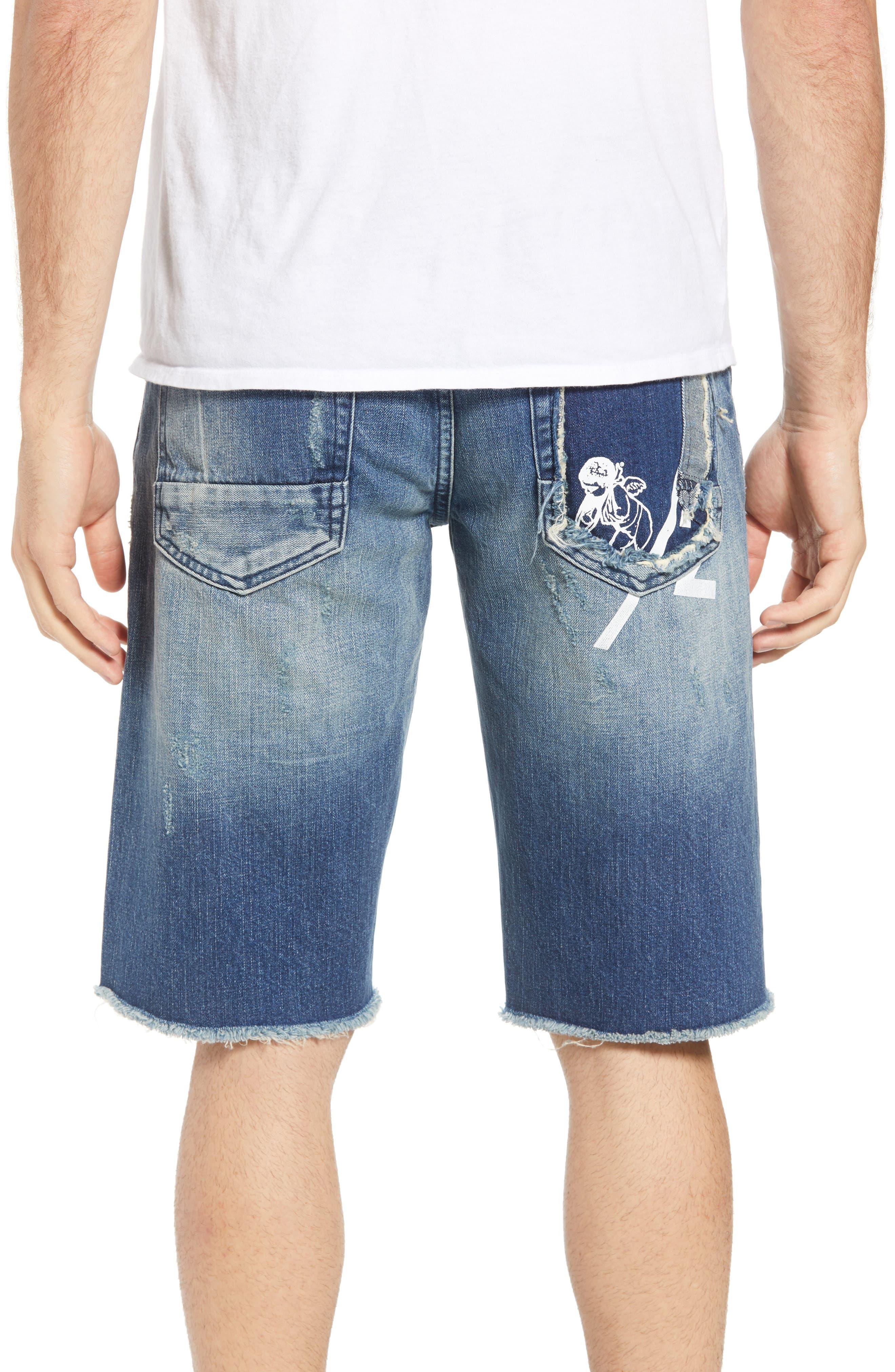 Challenger Regular Fit Shorts,                             Alternate thumbnail 2, color,                             WHISPERING