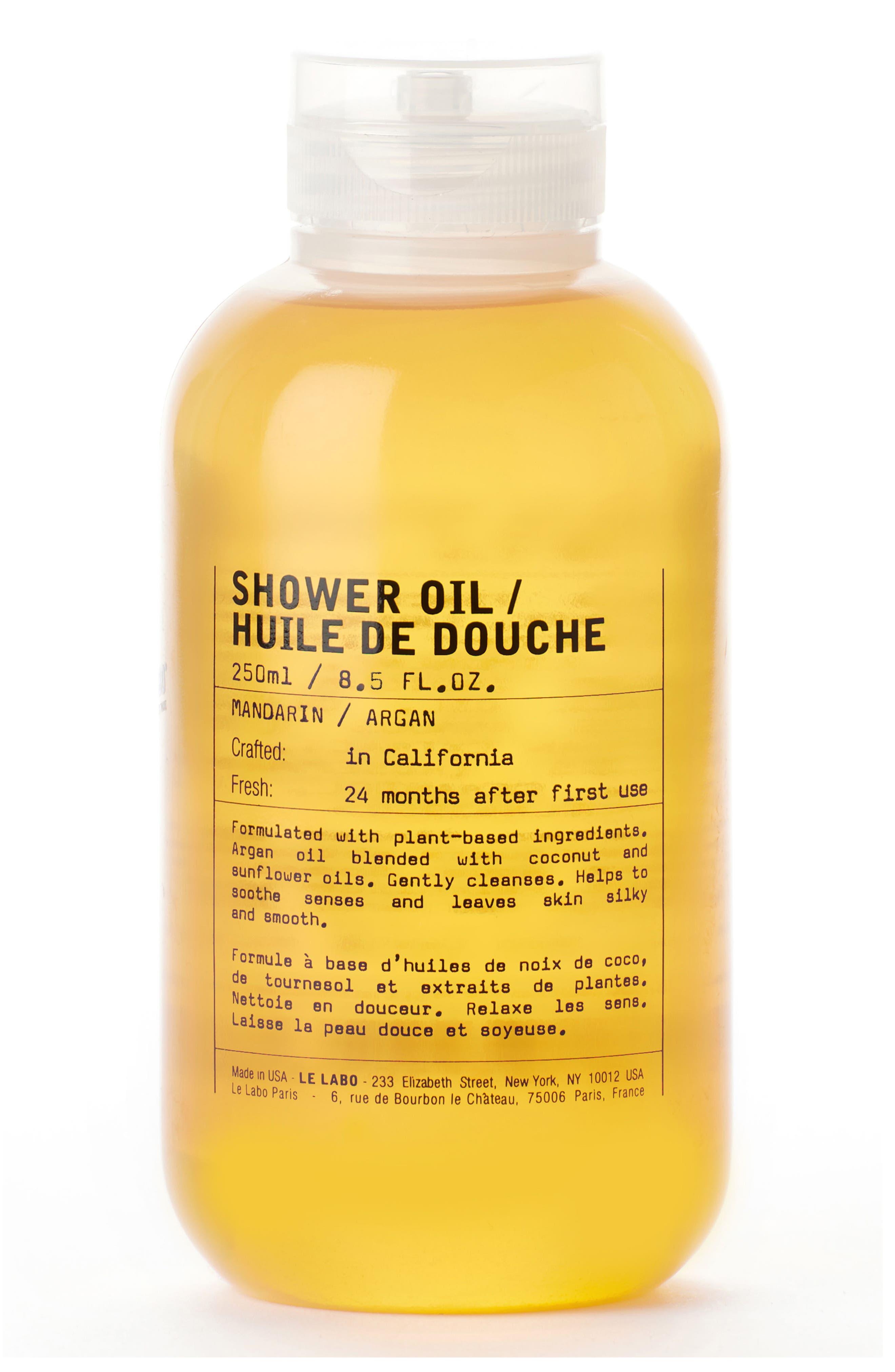 Shower Oil,                         Main,                         color, NO COLOR