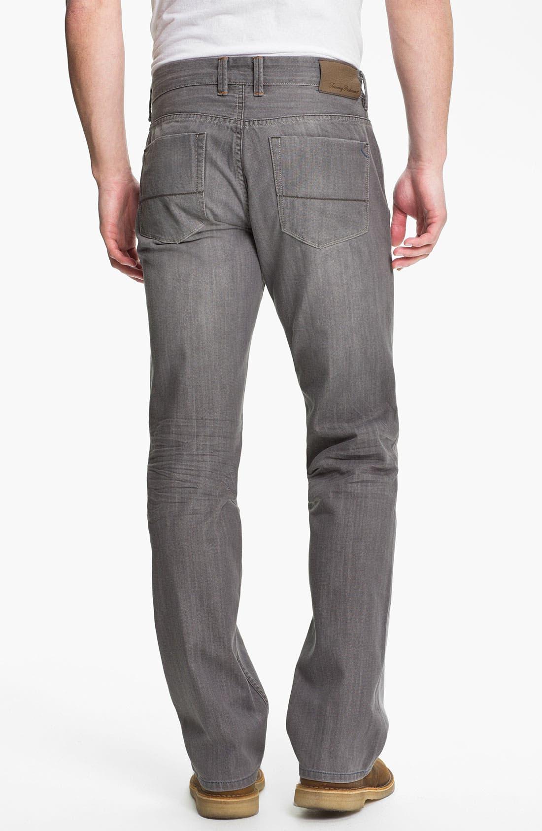 Denim 'Zander' Authentic Straight Leg Jeans,                             Alternate thumbnail 3, color,                             050