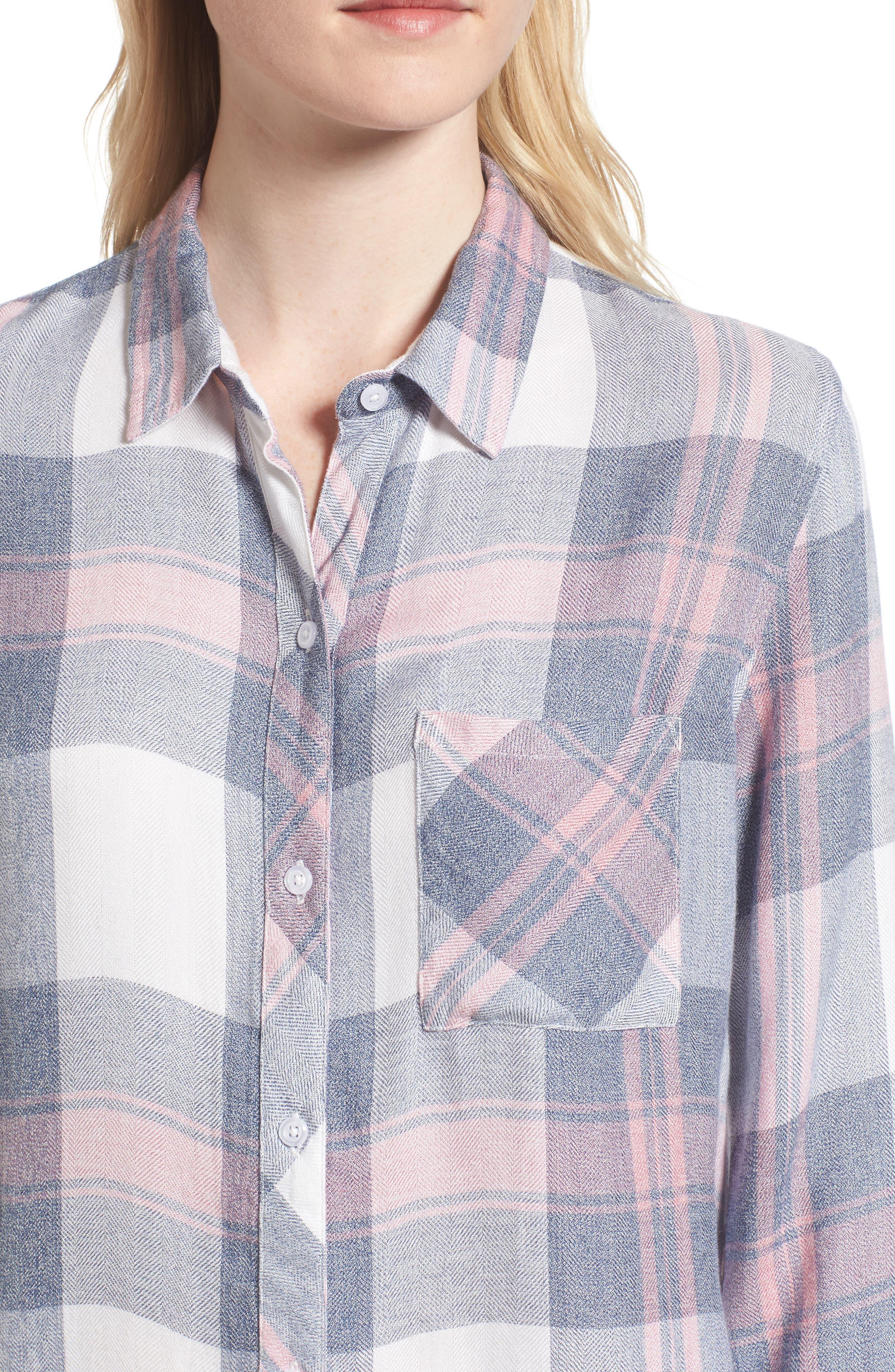 Hunter Plaid Shirt,                             Alternate thumbnail 483, color,