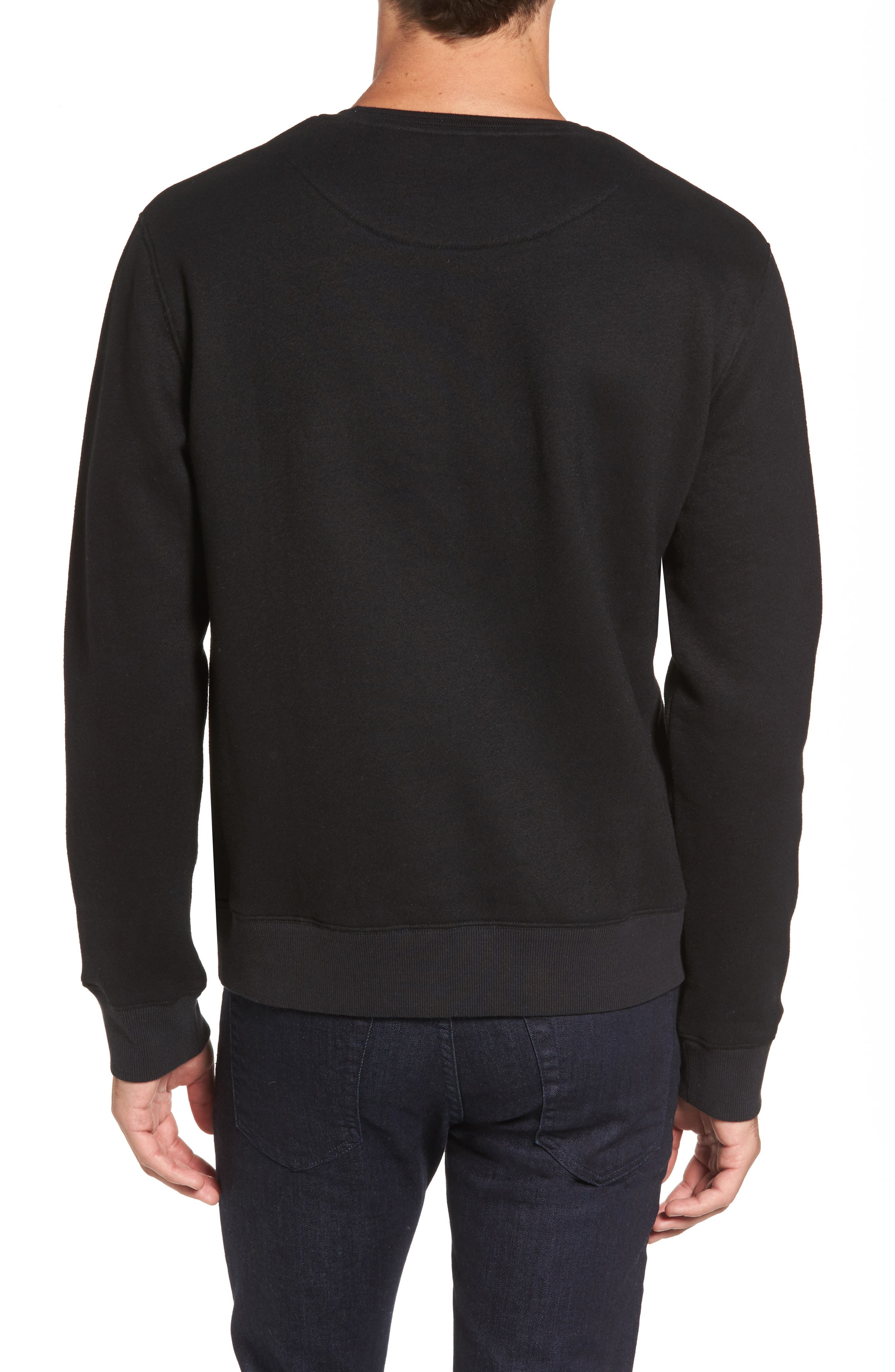 Auckland Logo Embroidered Sweatshirt,                             Alternate thumbnail 4, color,