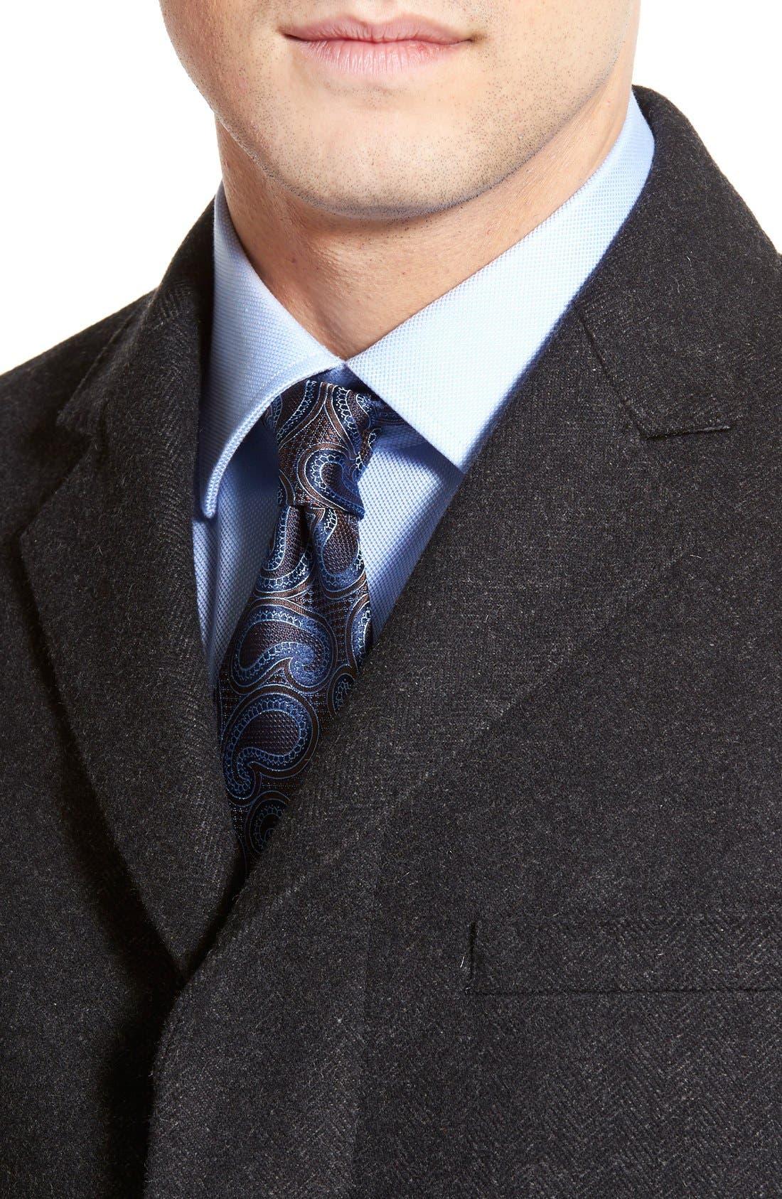 Maitland Modern Fit Wool Blend Overcoat,                             Alternate thumbnail 2, color,                             035