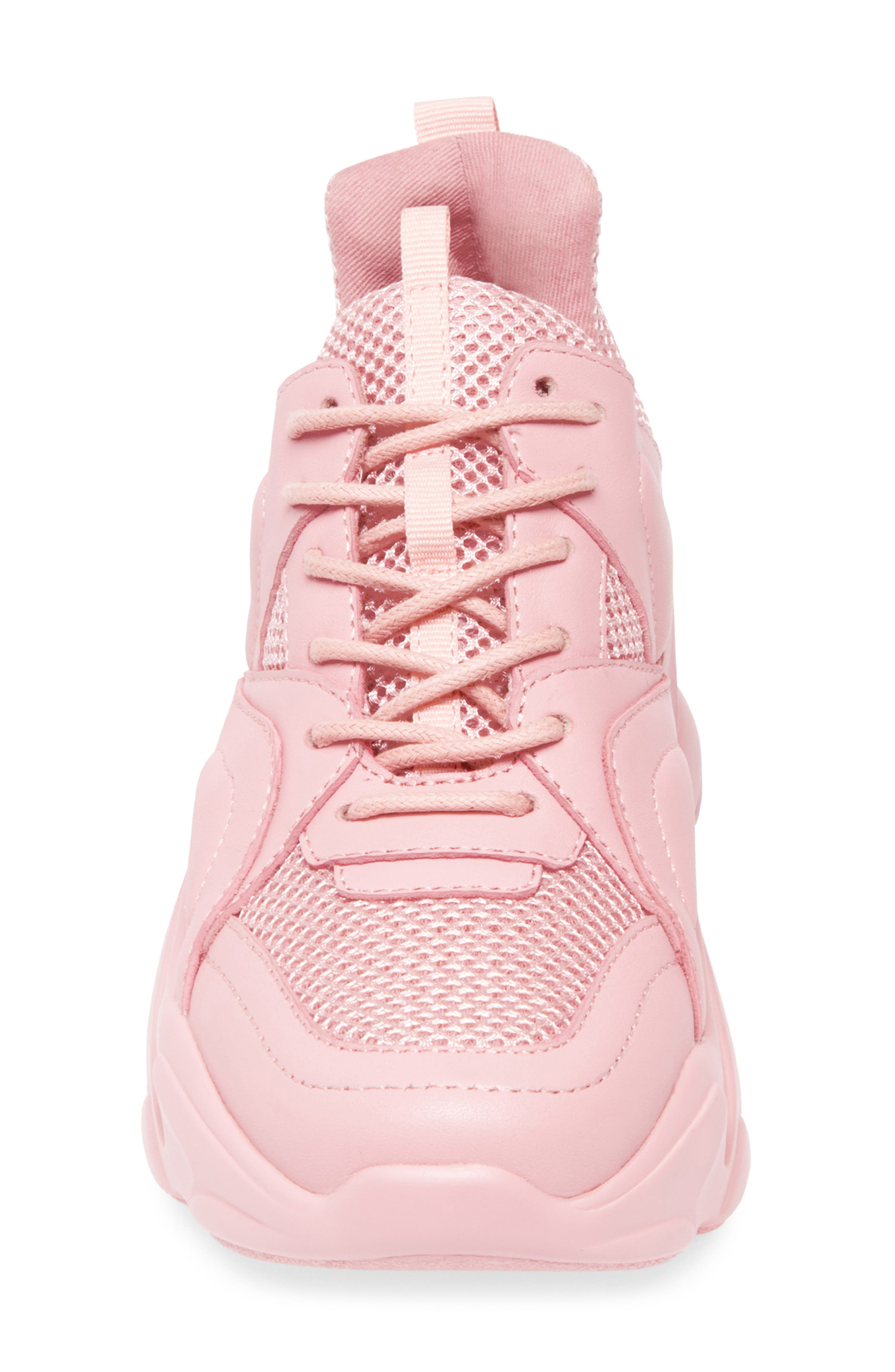 Movement Sneaker,                             Alternate thumbnail 4, color,                             PINK LEATHER