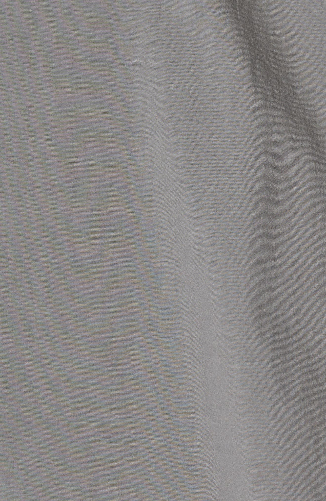 Rammy Trim Fit Solid Sport Shirt,                             Alternate thumbnail 5, color,                             020