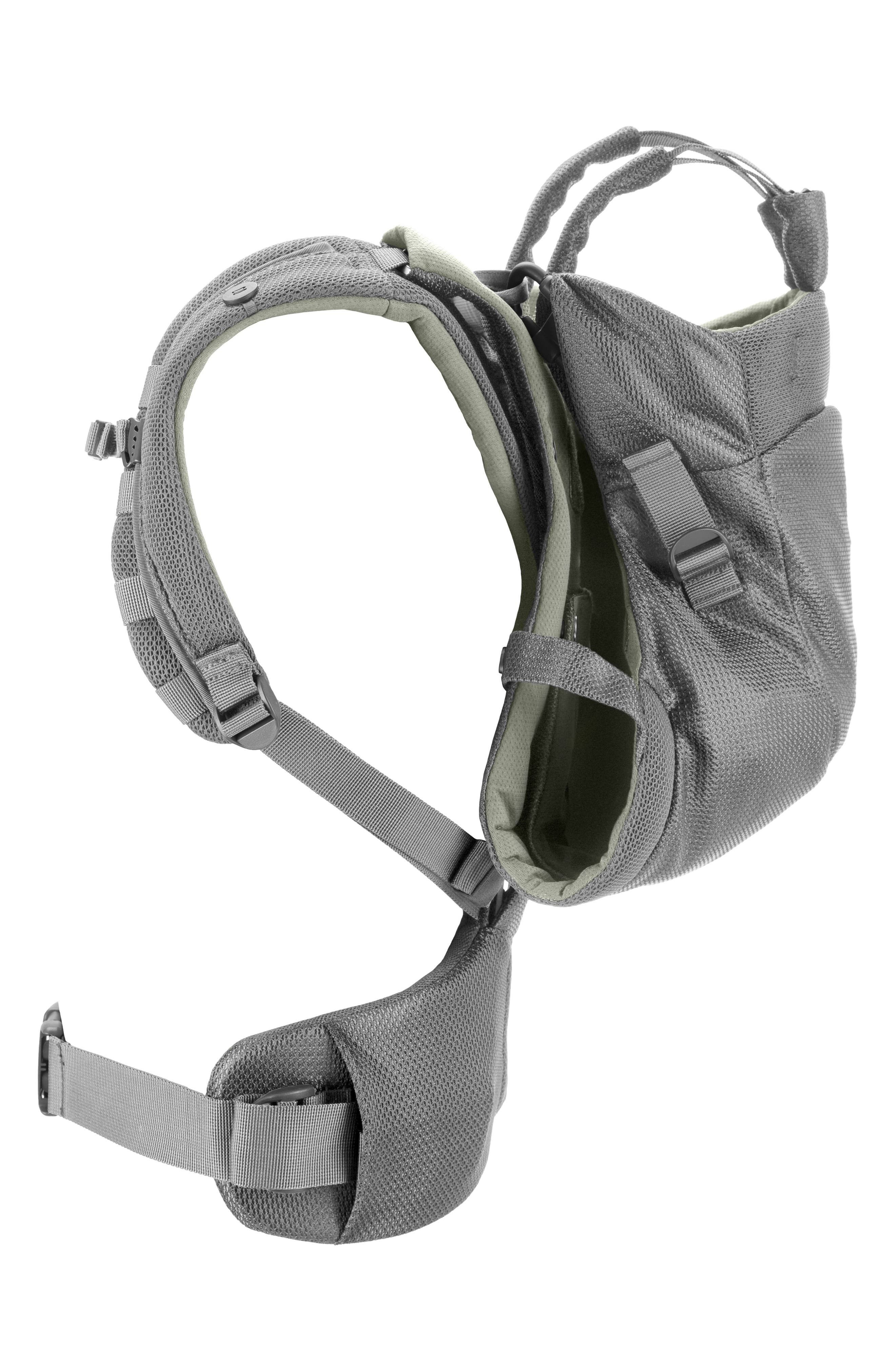 MyCarrier<sup>™</sup> Front Baby Carrier,                             Alternate thumbnail 3, color,                             GREEN MESH