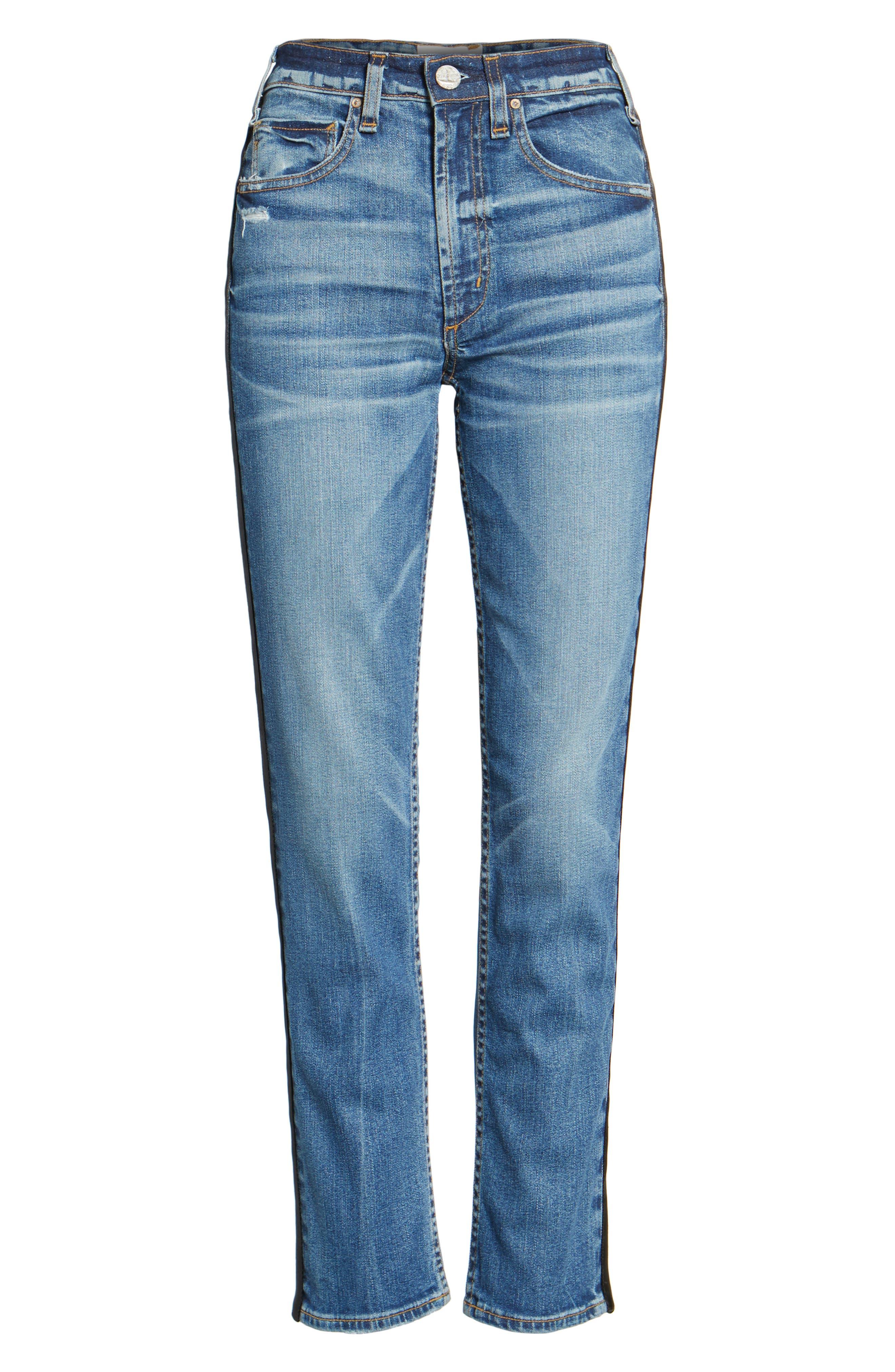 Vintage Slim Ankle Jeans,                             Alternate thumbnail 6, color,