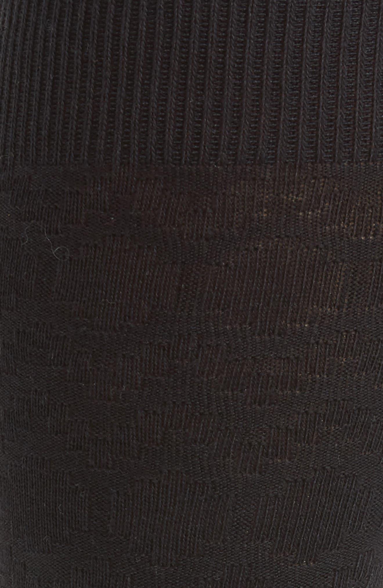 Rug Stripe Texture Socks,                             Alternate thumbnail 2, color,                             001