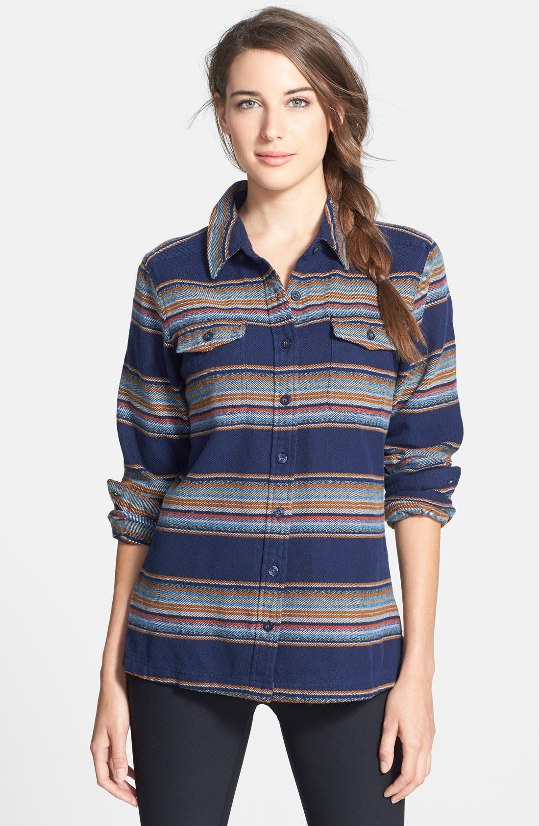 'Fjord' Flannel Shirt,                             Main thumbnail 14, color,