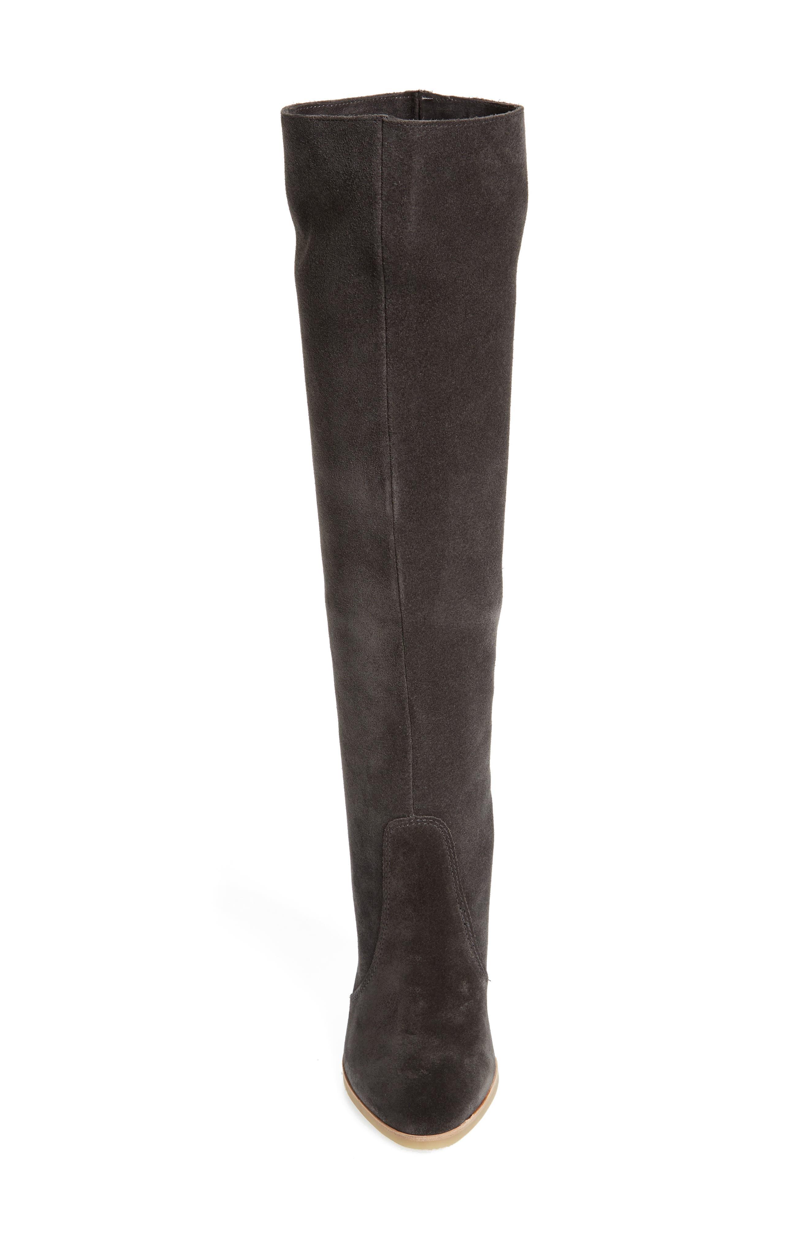 Celine Knee-High Boot,                             Alternate thumbnail 4, color,                             020