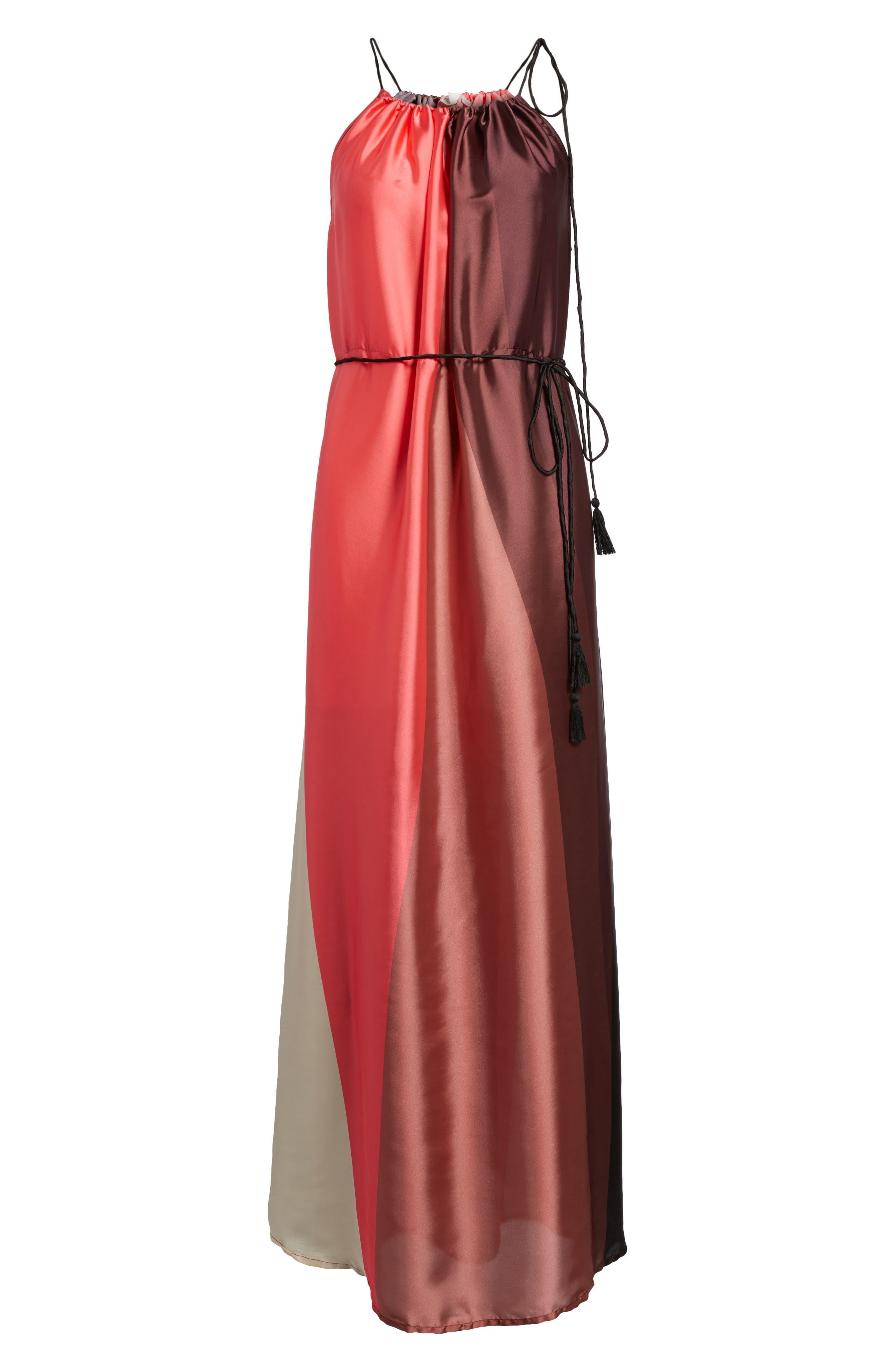 Icy Shores Maxi Dress,                             Alternate thumbnail 6, color,                             903