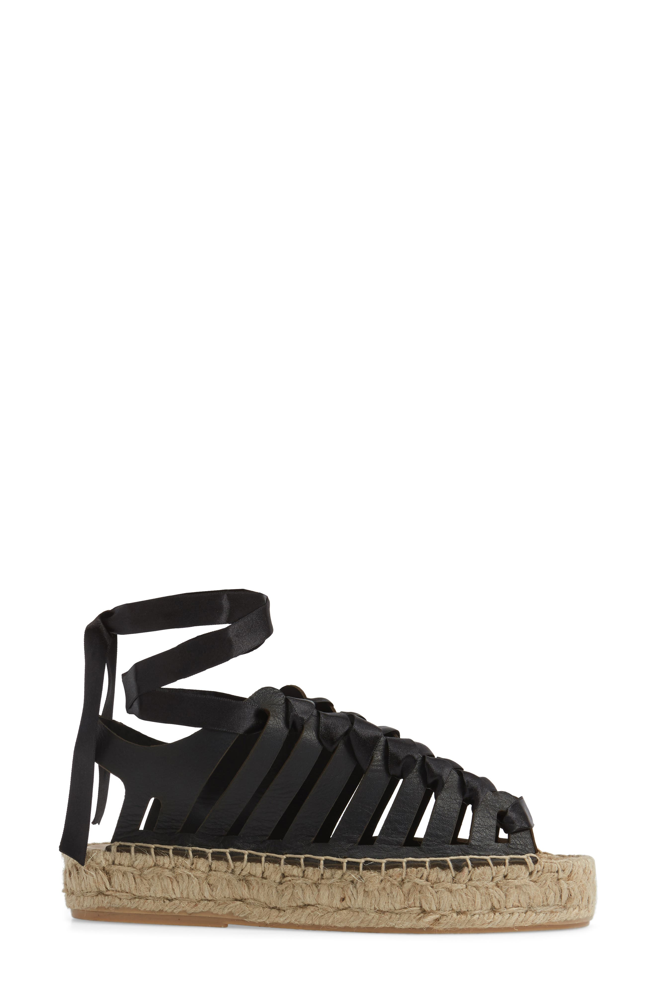 Krown Wraparound Platform Sandal,                             Alternate thumbnail 5, color,