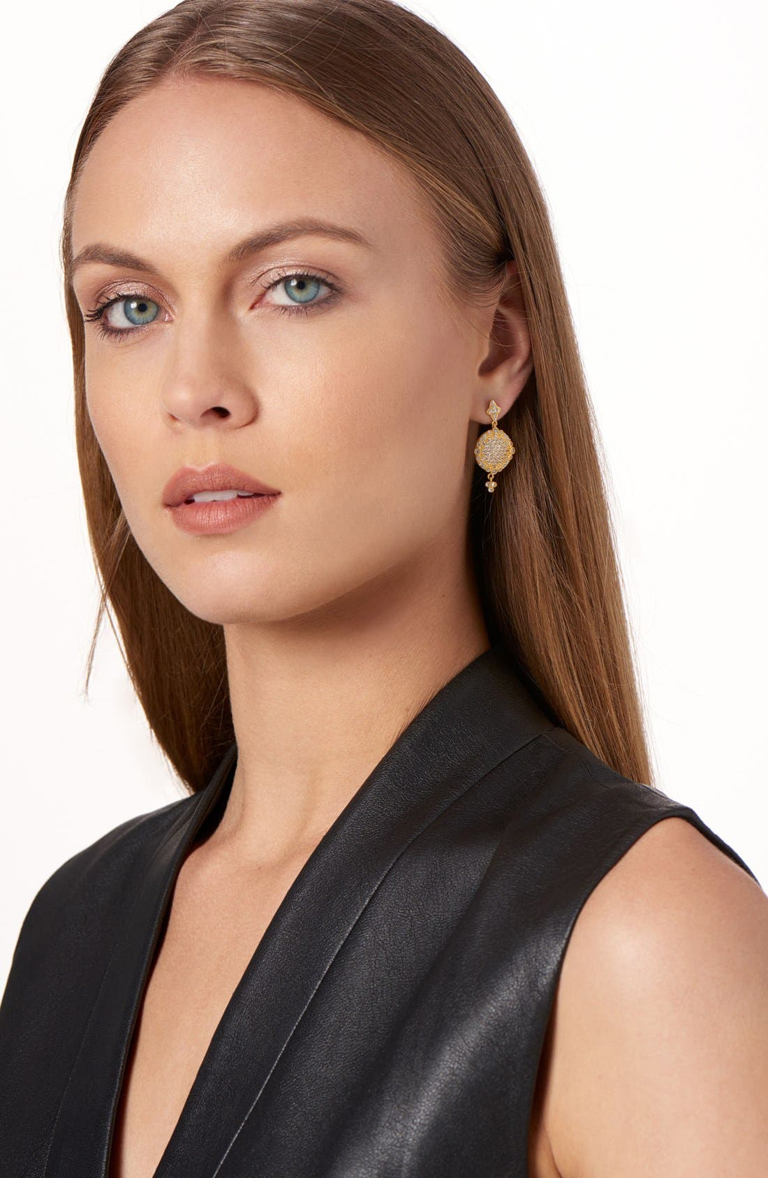 'Mercer' Pavé Drop Earrings,                             Alternate thumbnail 2, color,                             710