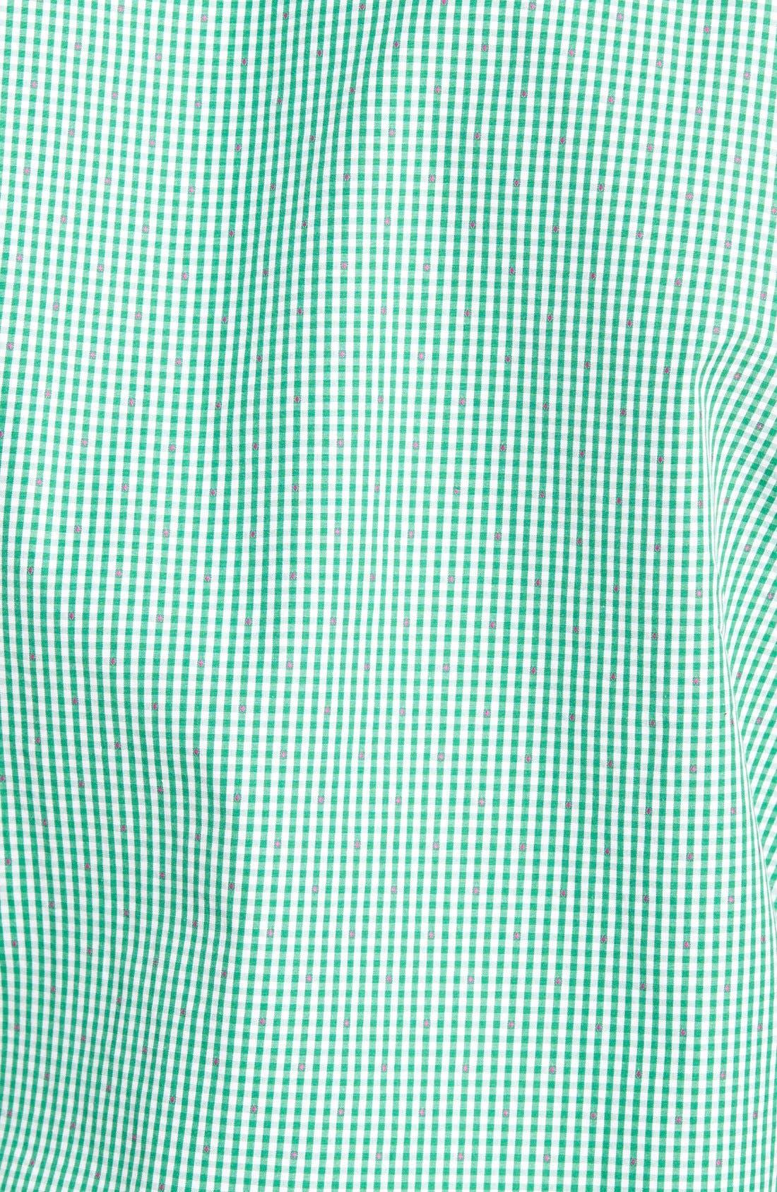 'Freeman' Sports Fit Check Sport Shirt,                             Alternate thumbnail 5, color,                             334