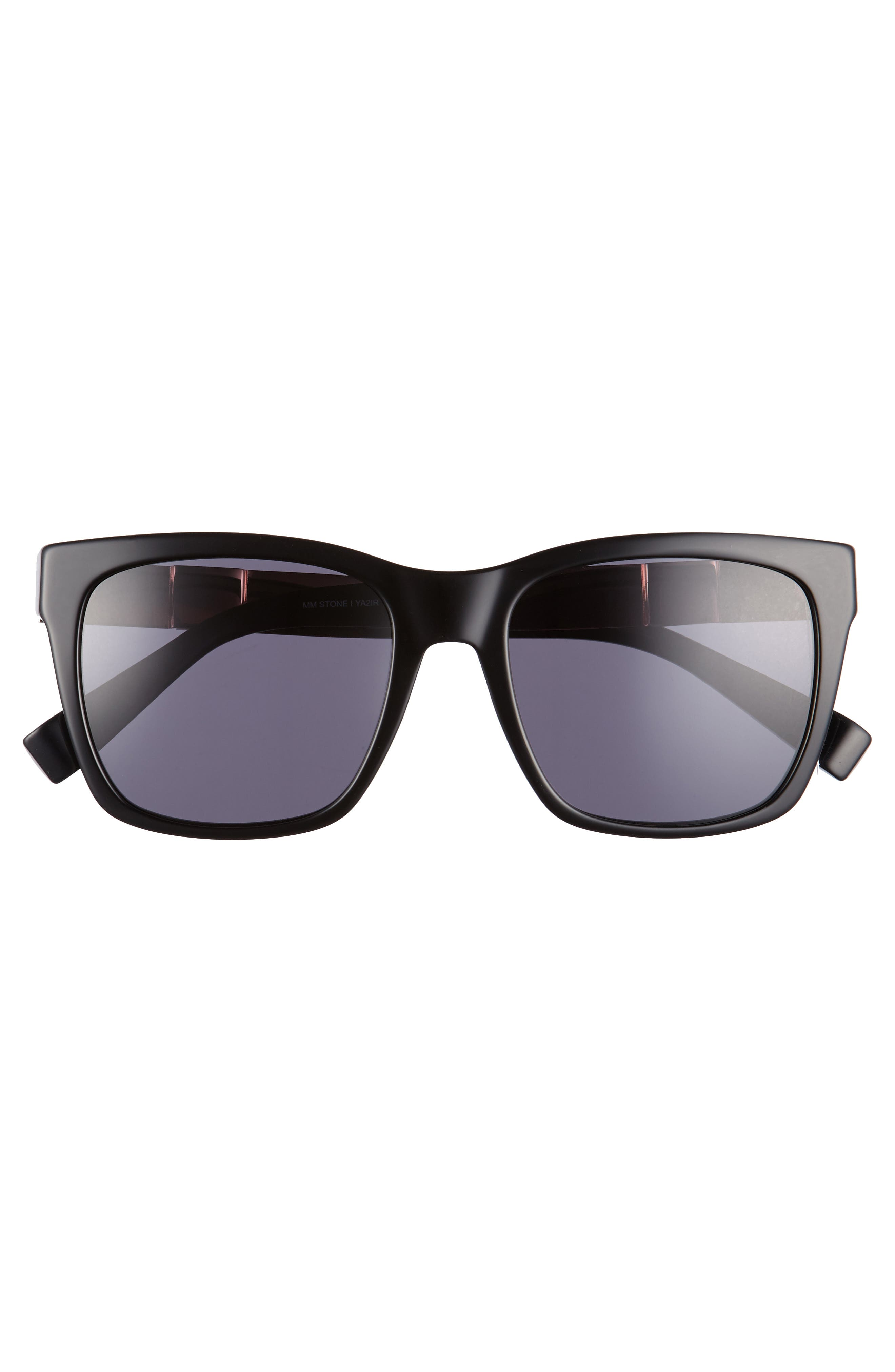 Stone 54mm Gradient Sunglasses,                             Alternate thumbnail 3, color,                             001