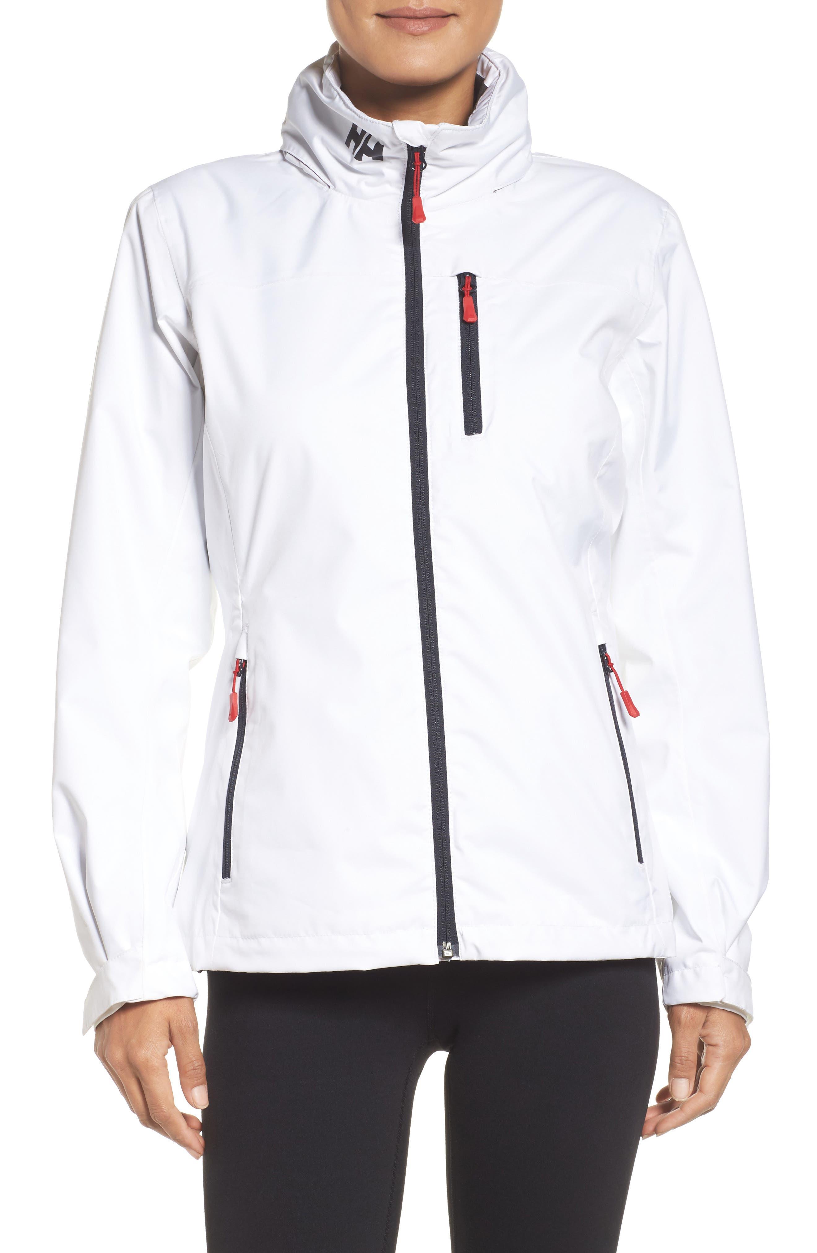 Crew Waterproof Jacket,                             Main thumbnail 1, color,                             100