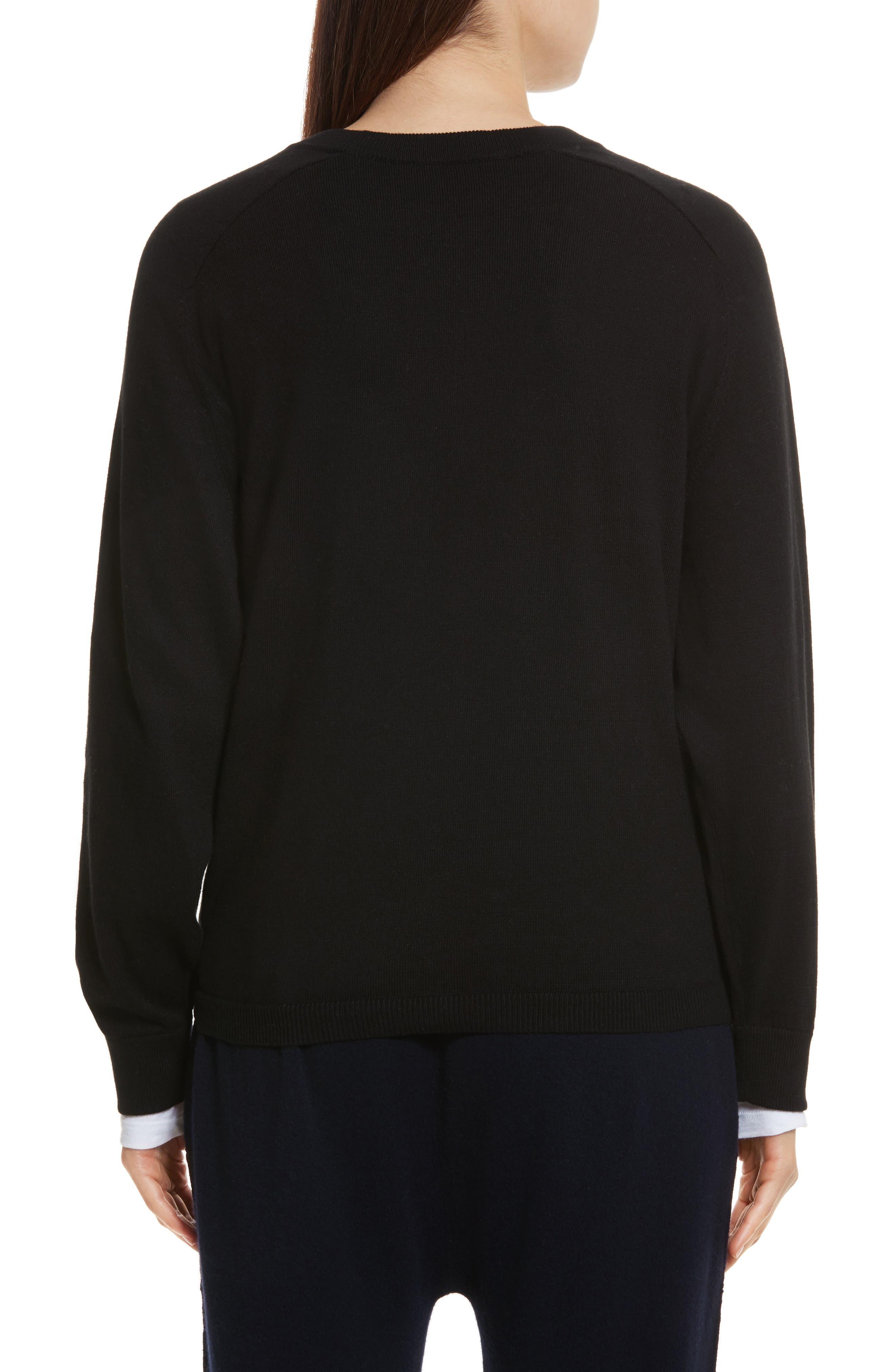 Tie Waist Sweater,                             Alternate thumbnail 2, color,                             001