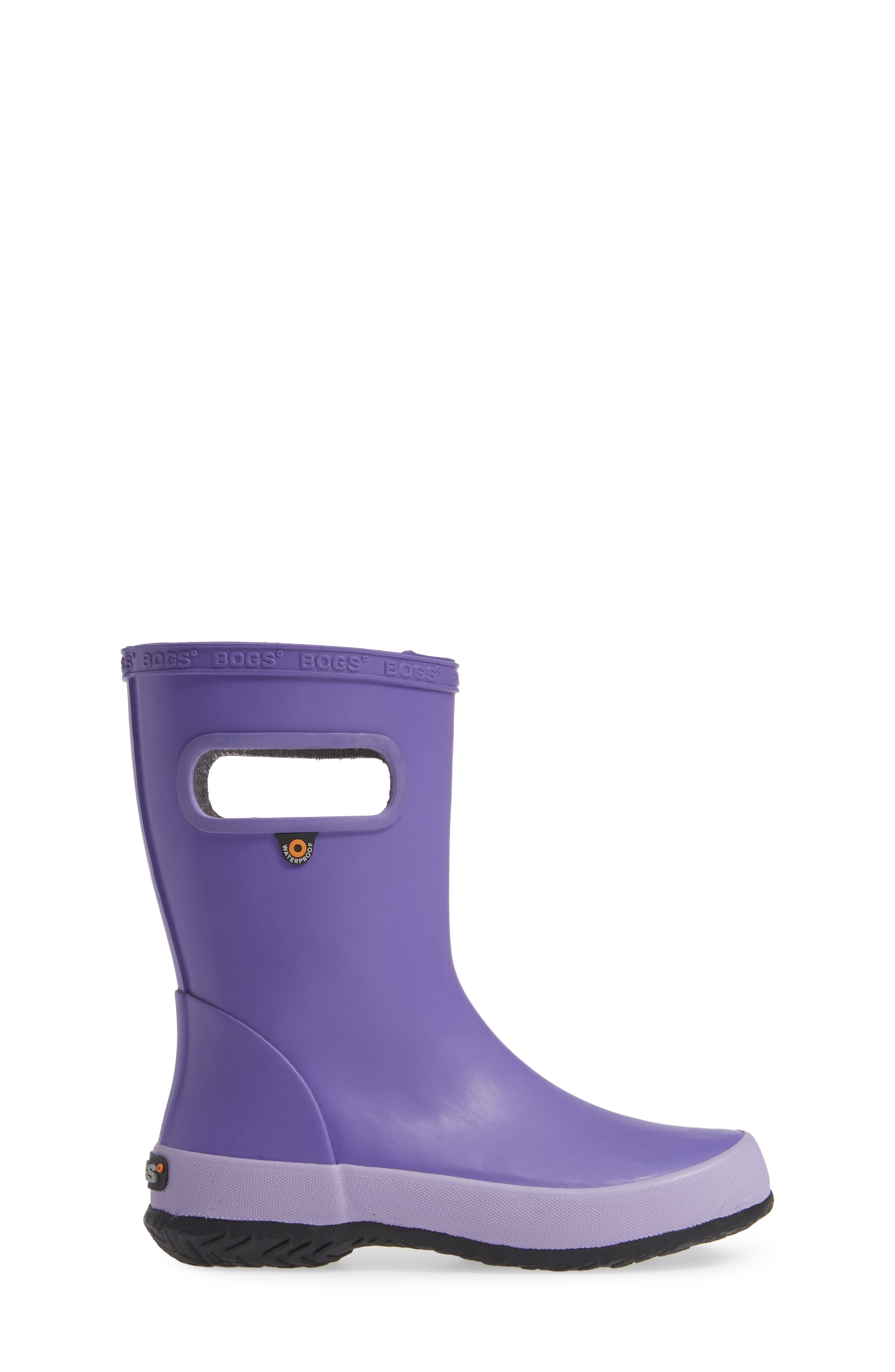 BOGS,                             Skipper Solid Rubber Waterproof Rain Boot,                             Alternate thumbnail 3, color,                             531