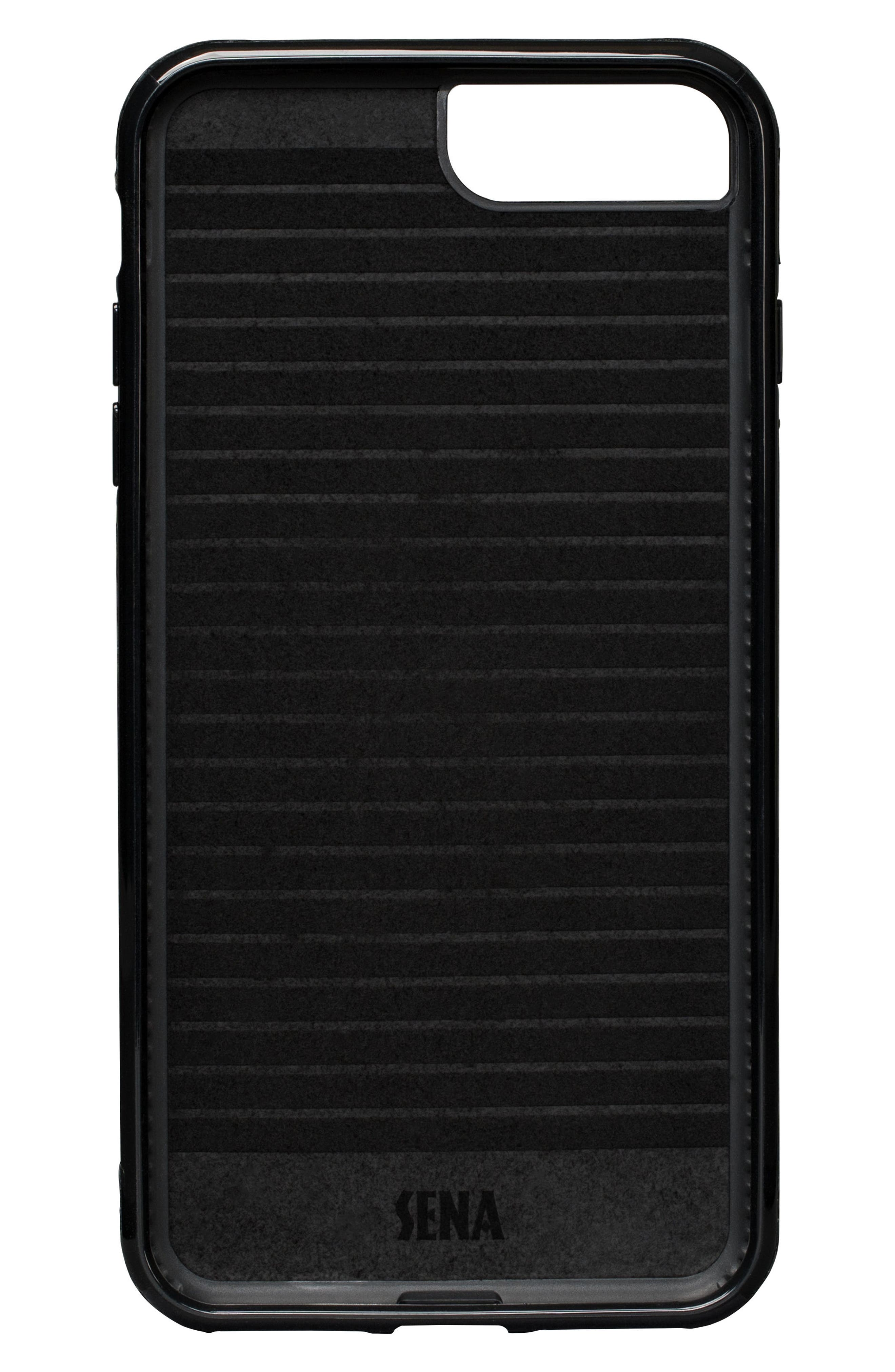 SENA,                             Bence Lugano iPhone 7/8 Plus Wallet Case,                             Alternate thumbnail 2, color,                             001
