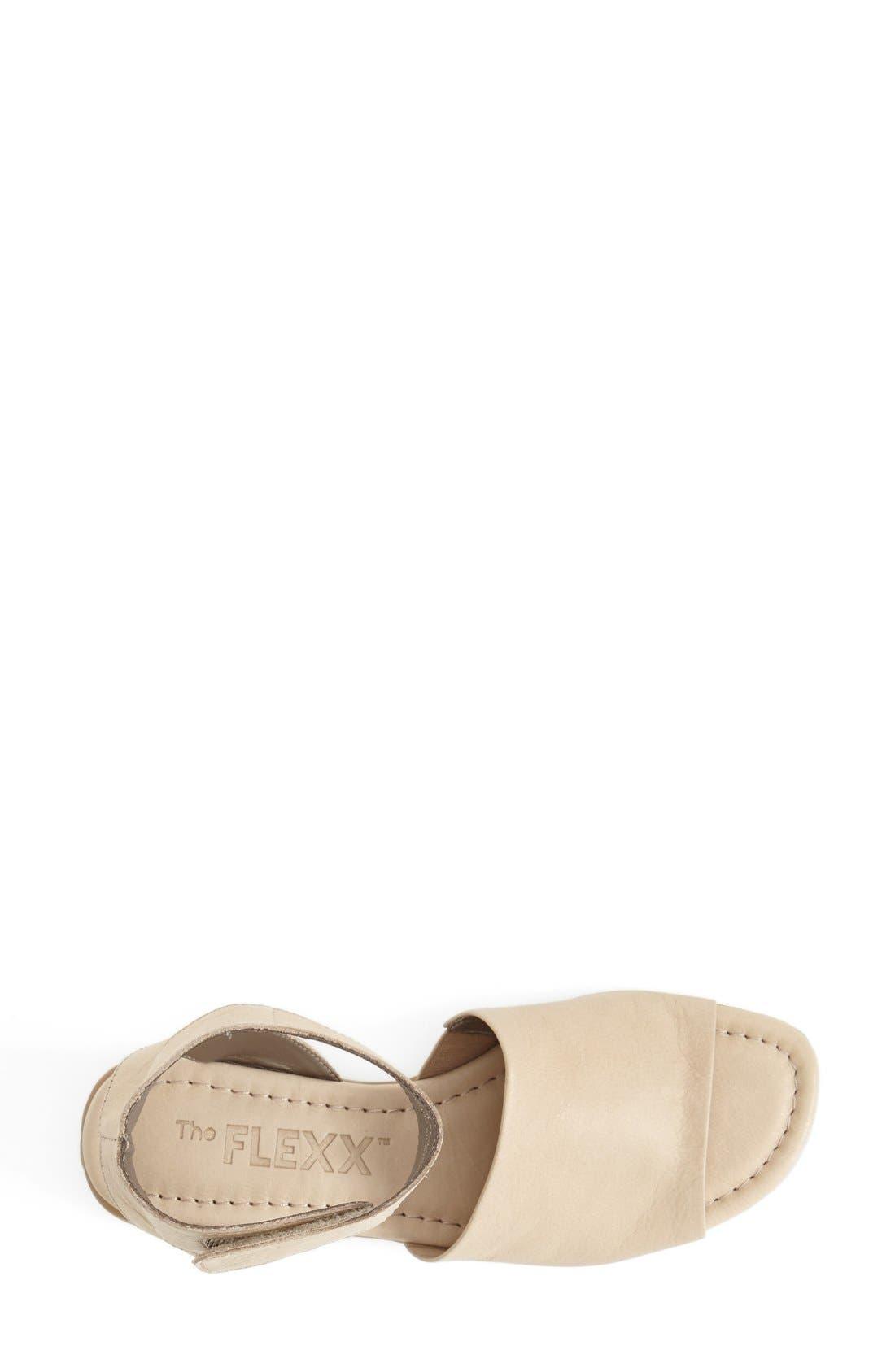 'Beglad' Leather Ankle Strap Sandal,                             Alternate thumbnail 46, color,