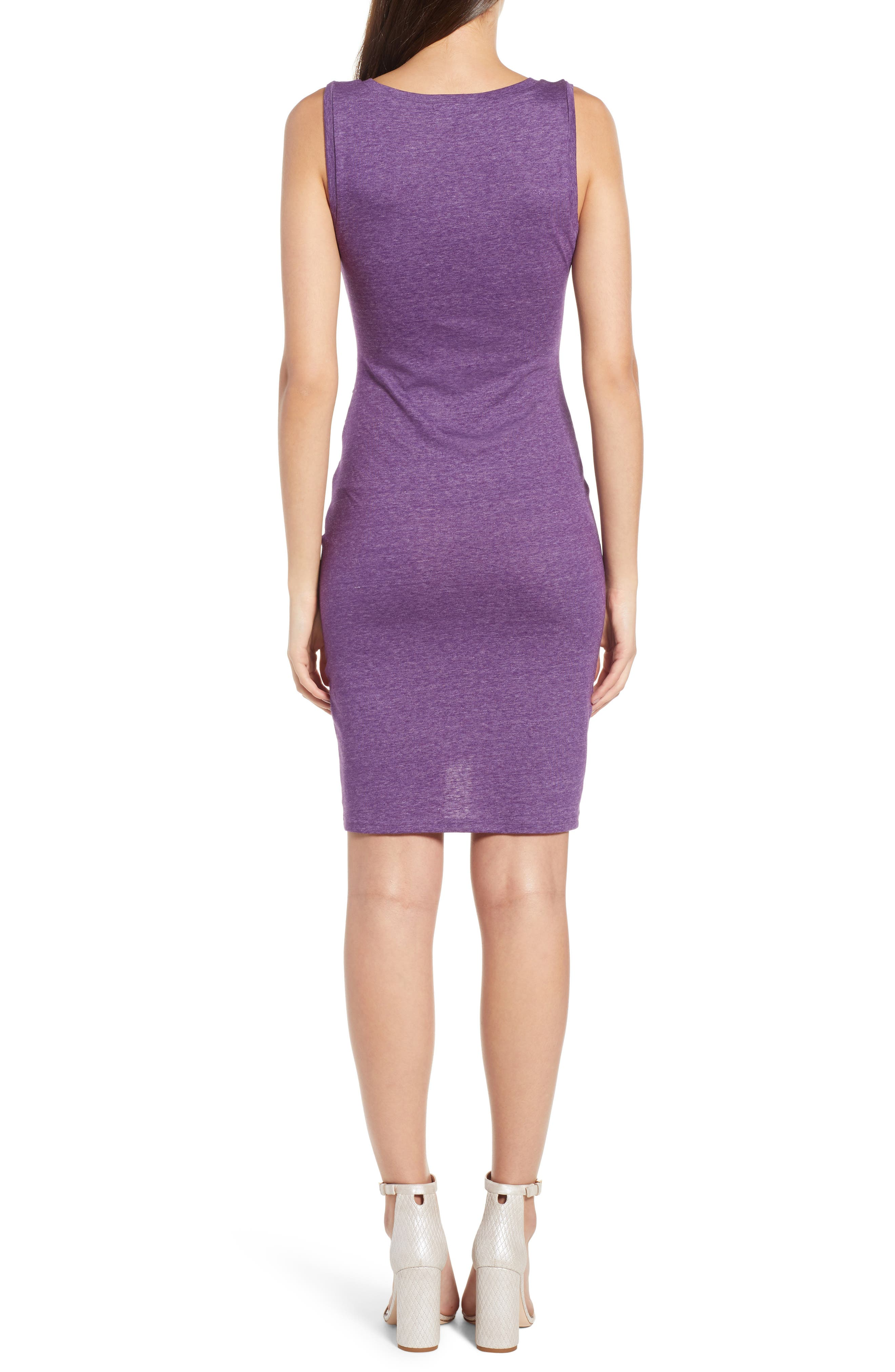 Ruched Body-Con Tank Dress,                             Alternate thumbnail 45, color,