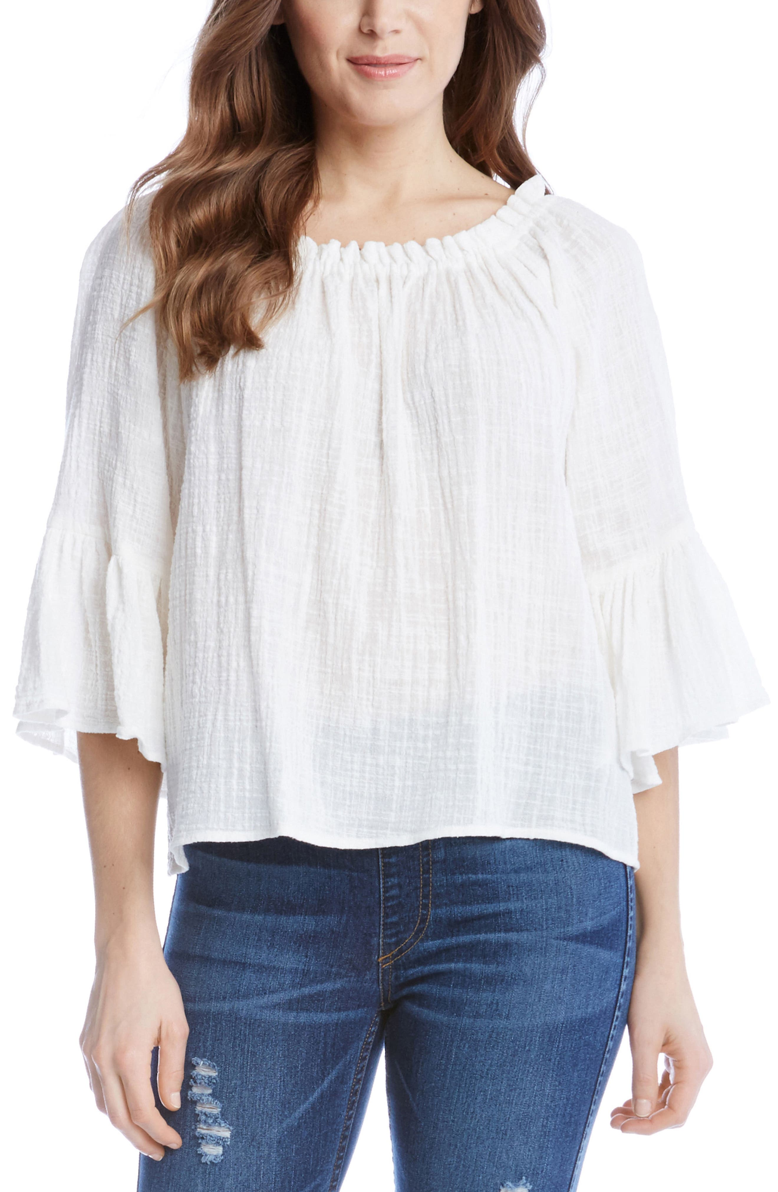 Convertible Off the Shoulder Top,                             Alternate thumbnail 2, color,