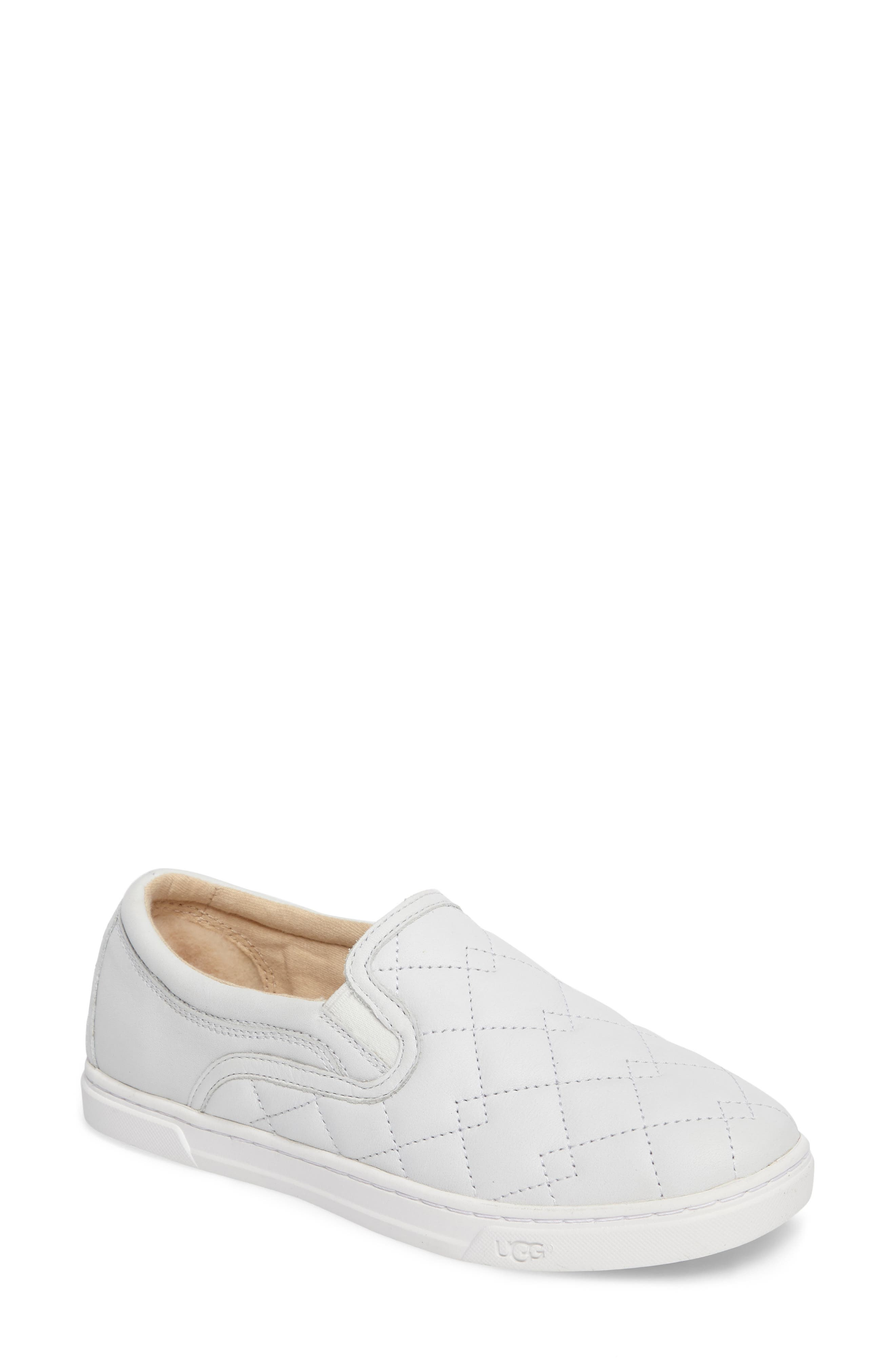 Fierce Deco Quilted Slip-On Sneaker,                         Main,                         color, 100