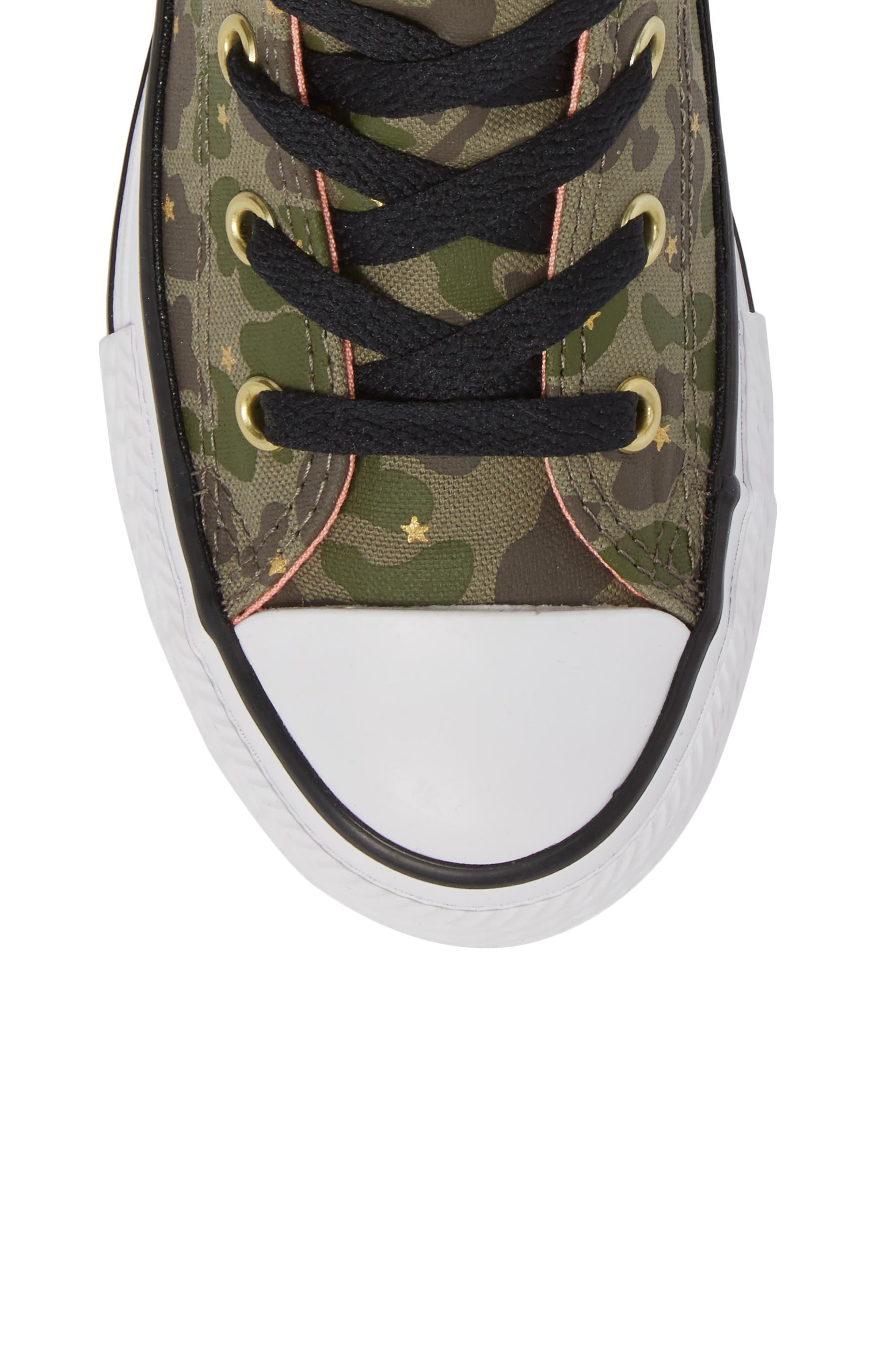 Camo High Top Sneaker,                             Alternate thumbnail 5, color,