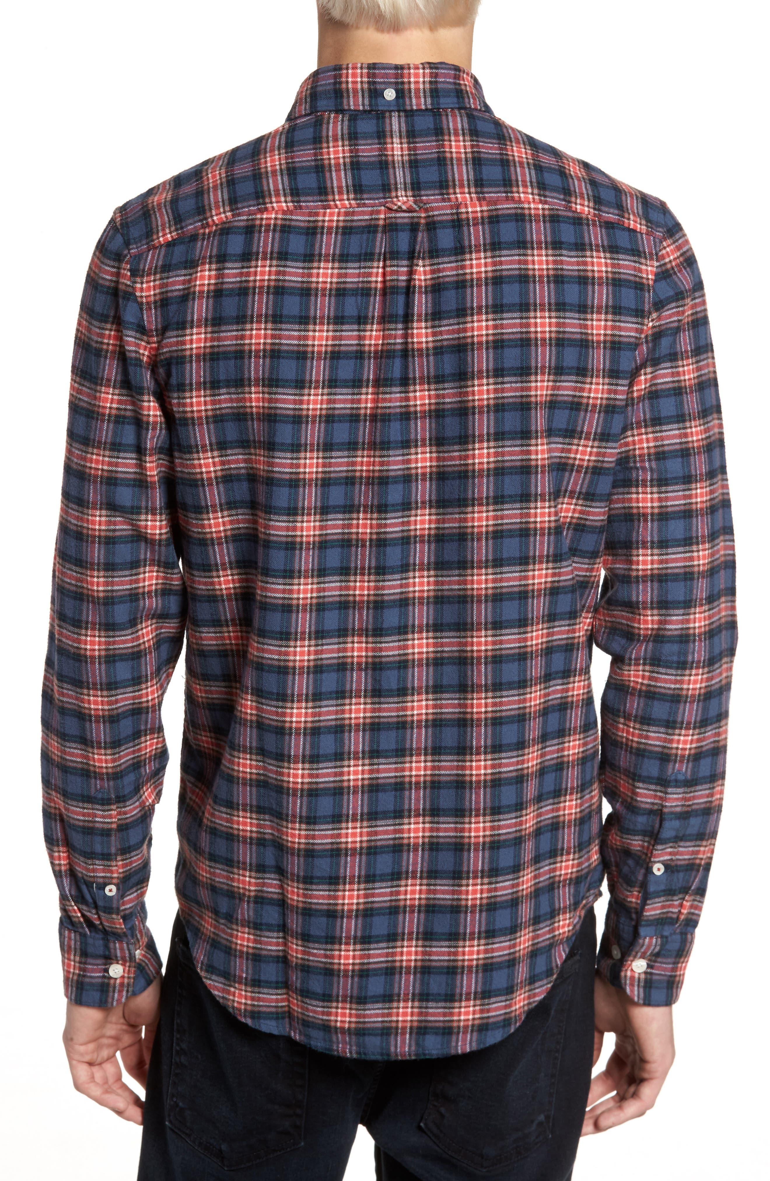 P55 Heritage Flannel Shirt,                             Alternate thumbnail 2, color,                             413