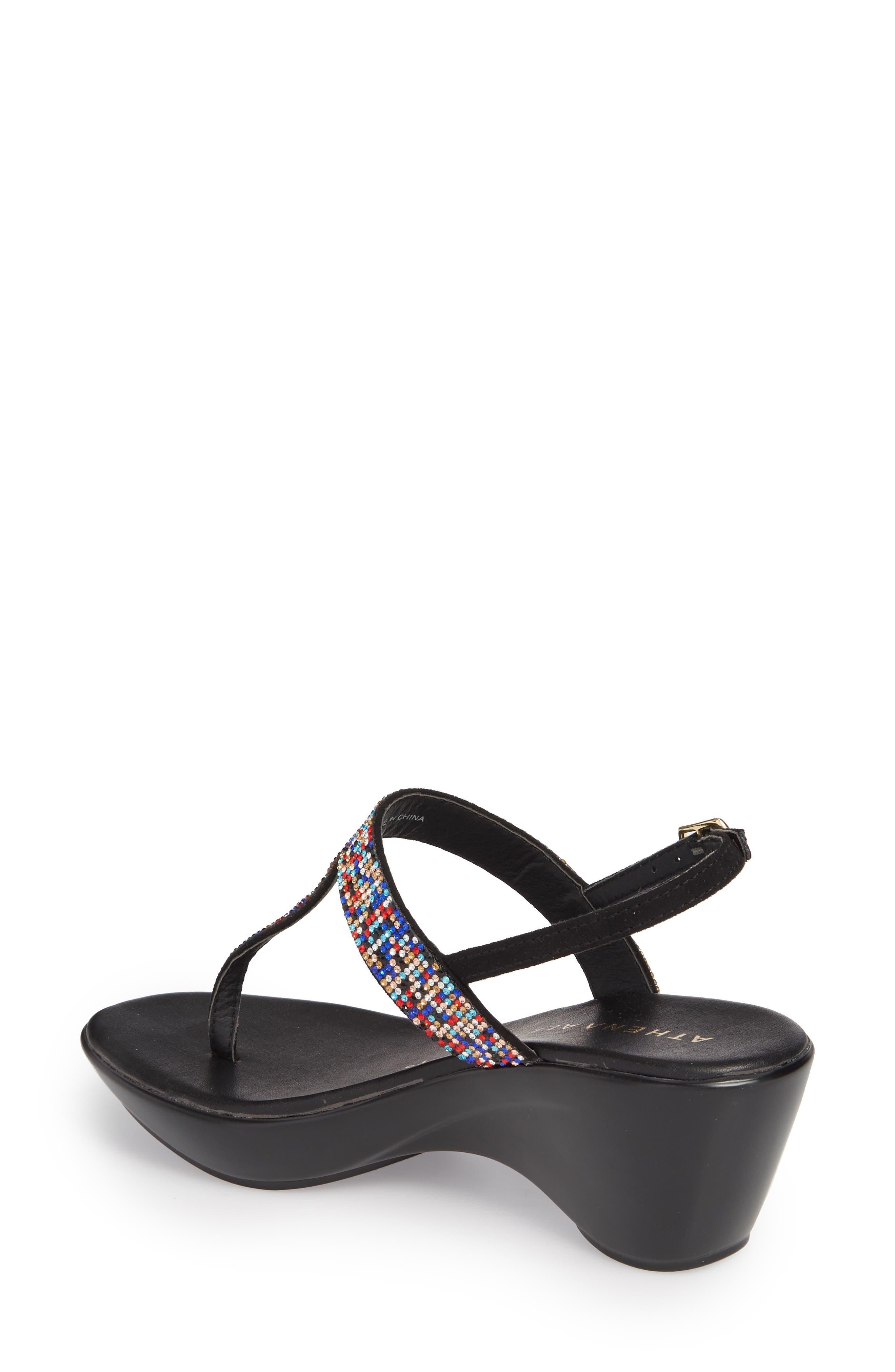 Dakkota Wedge Sandal,                             Alternate thumbnail 2, color,                             001