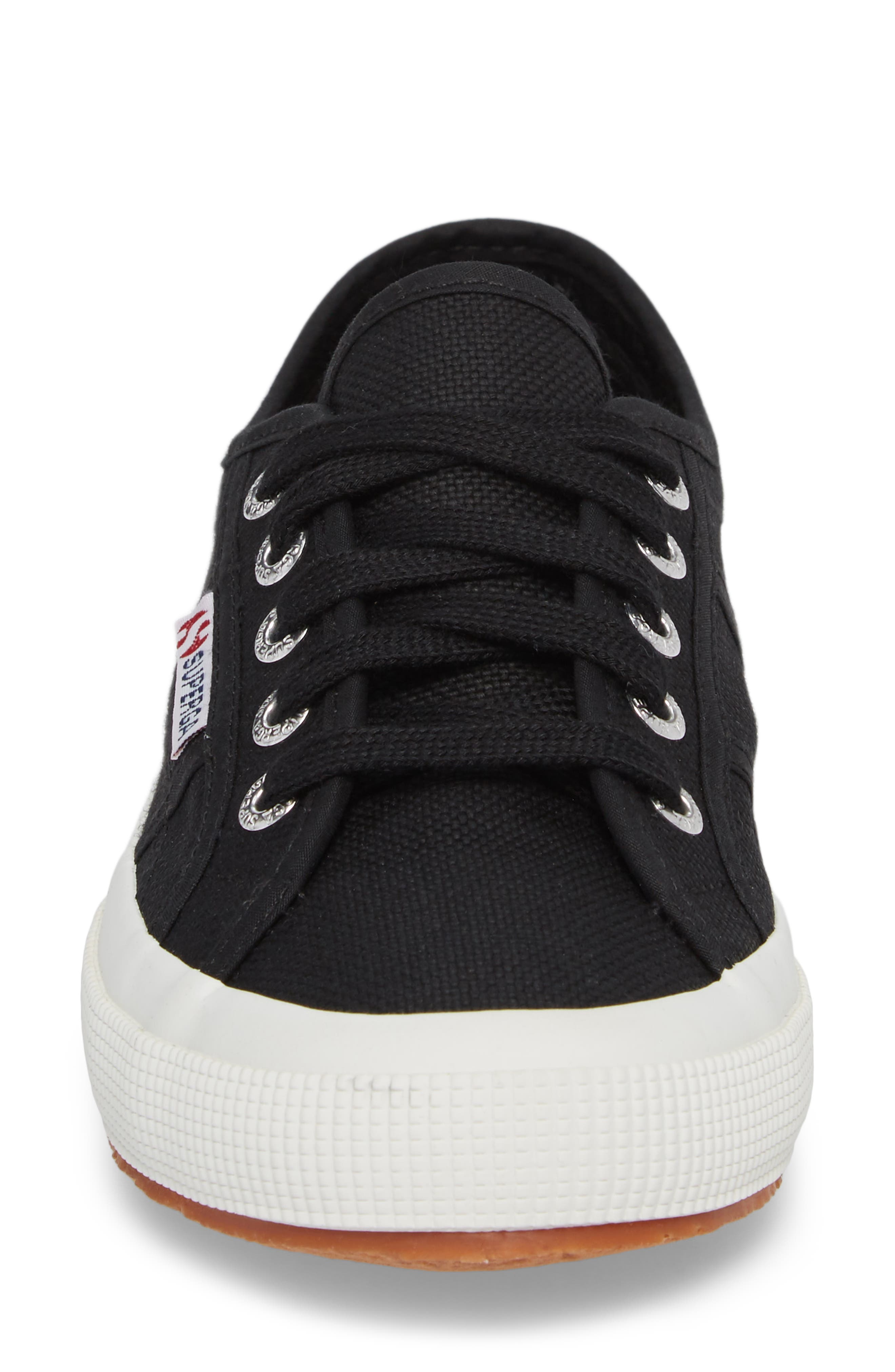 'Cotu' Sneaker,                             Alternate thumbnail 4, color,                             BLACK/ BLACK/ WHITE