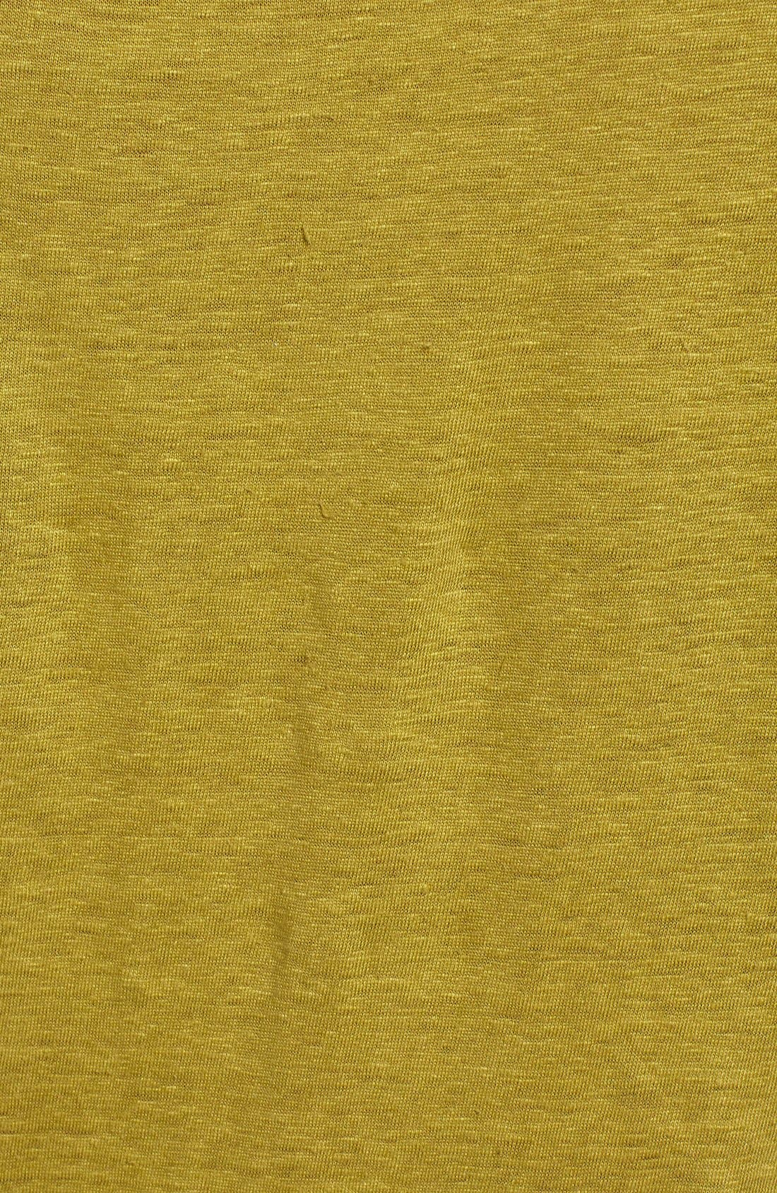 Bateau Neck Organic Linen Tunic,                             Alternate thumbnail 68, color,