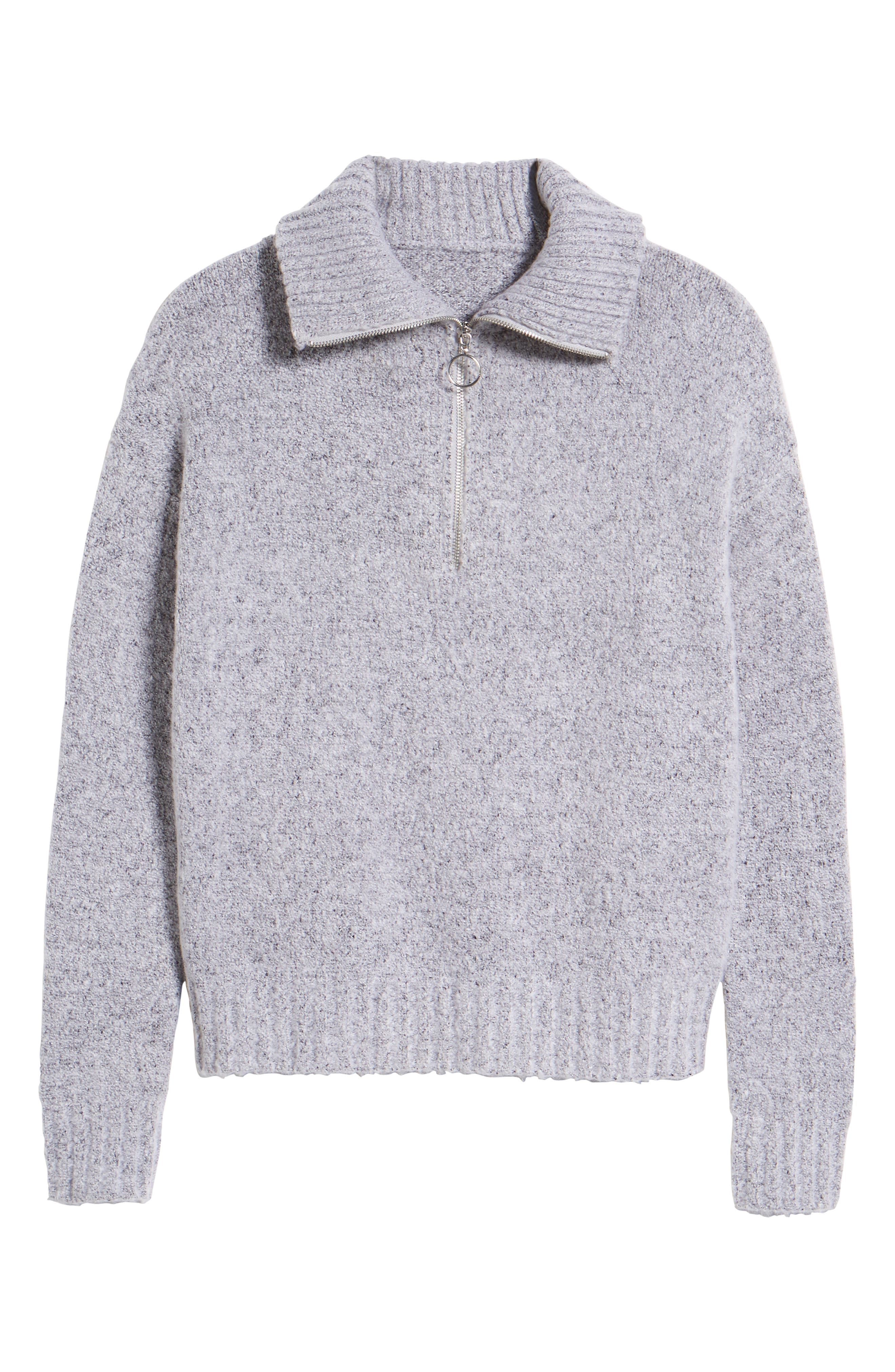 Quarter Zip Sweater,                             Alternate thumbnail 7, color,                             020
