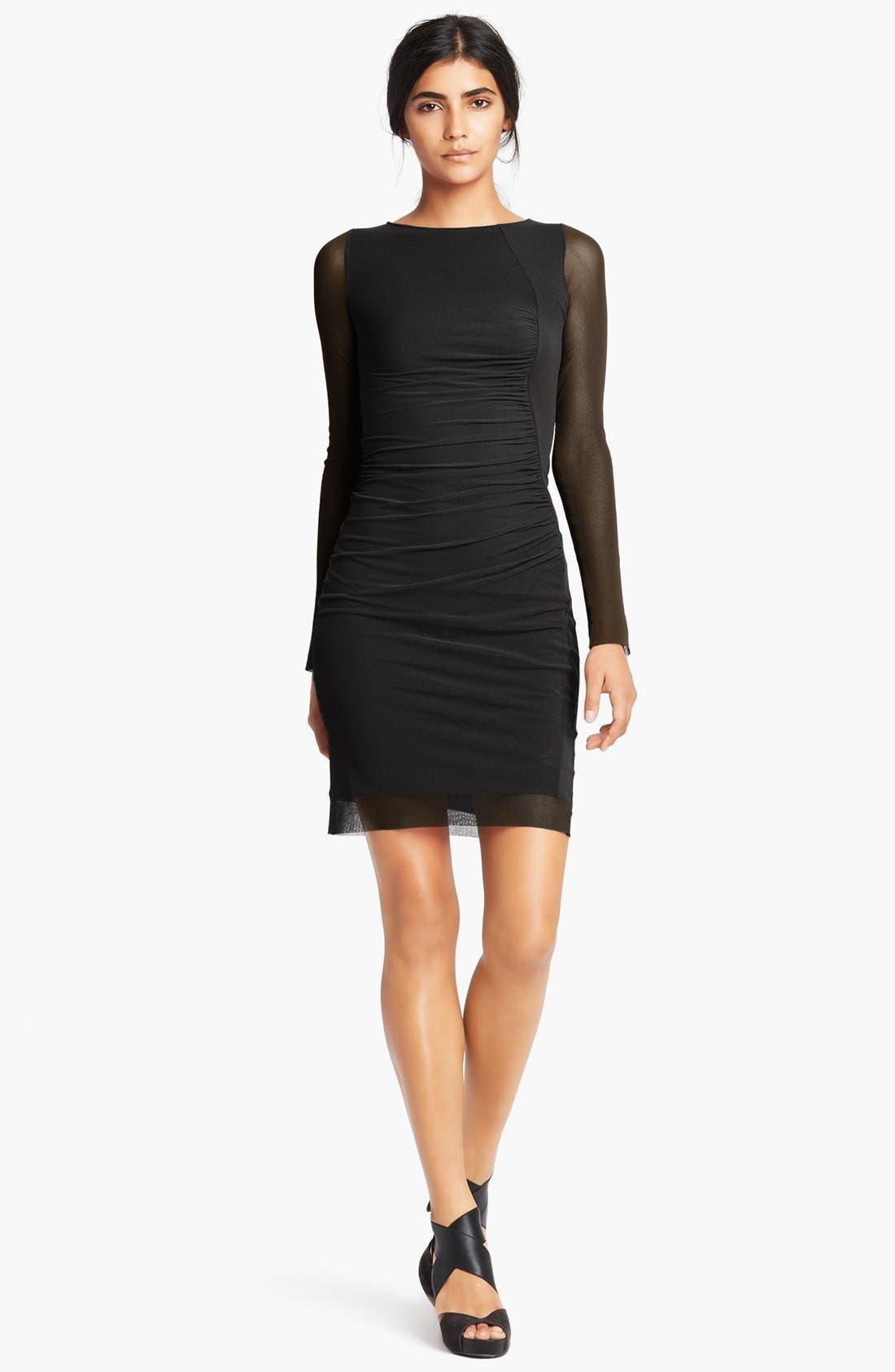 Tulle Dress,                             Main thumbnail 1, color,                             001