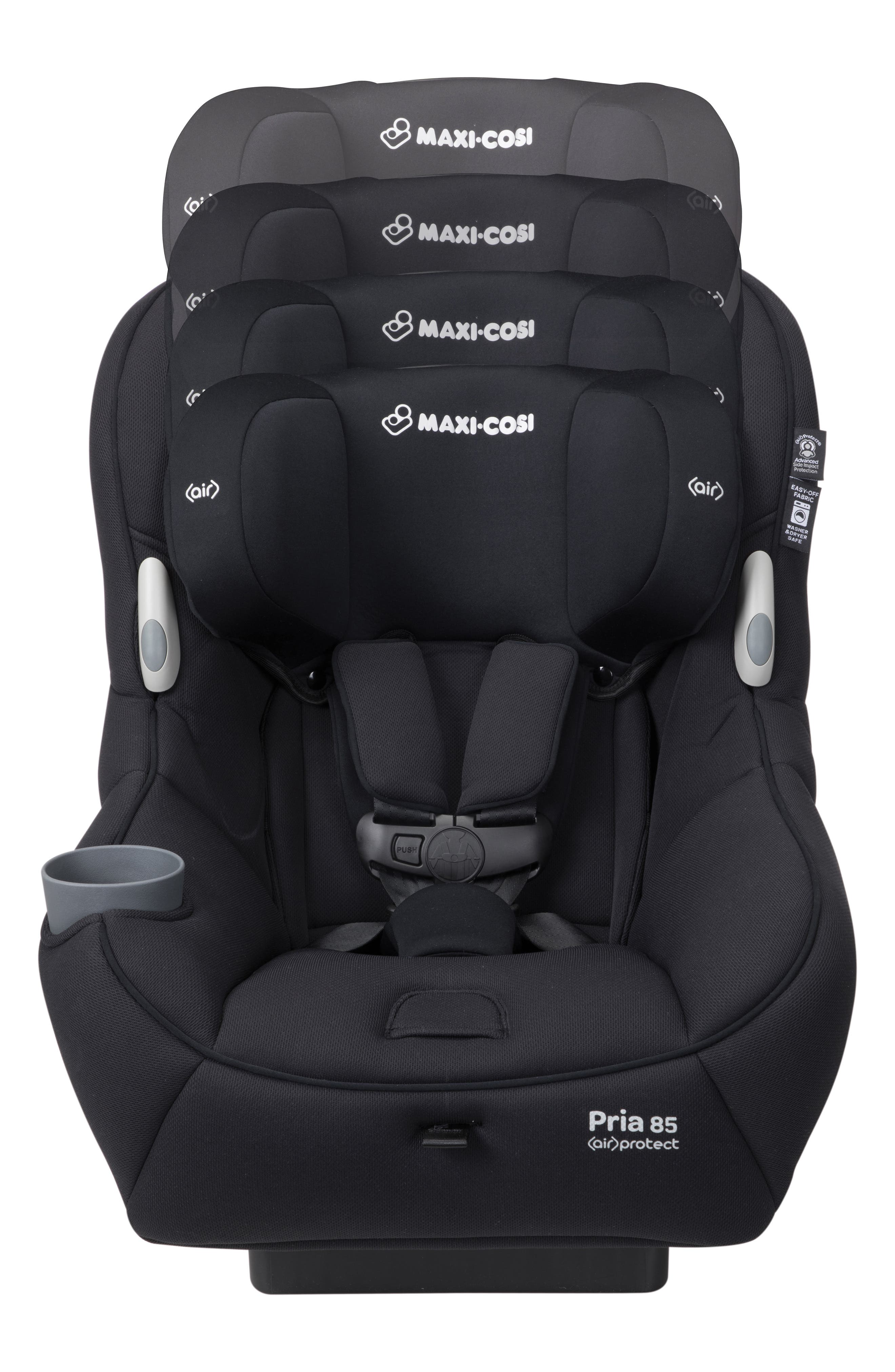 Pria<sup>™</sup> 85 2.0 Convertible Car Seat,                             Alternate thumbnail 2, color,                             NIGHT BLACK